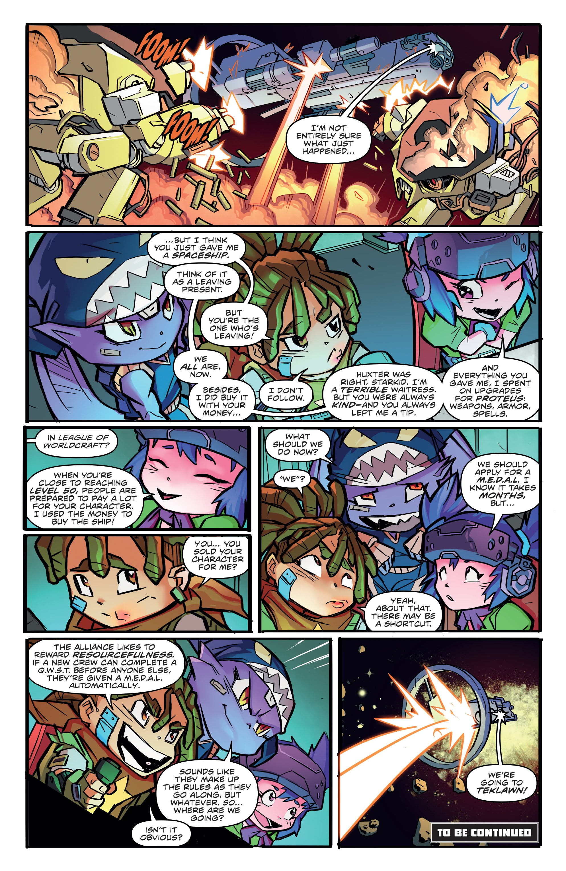 Read online Starcadia Quest comic -  Issue #1 - 22