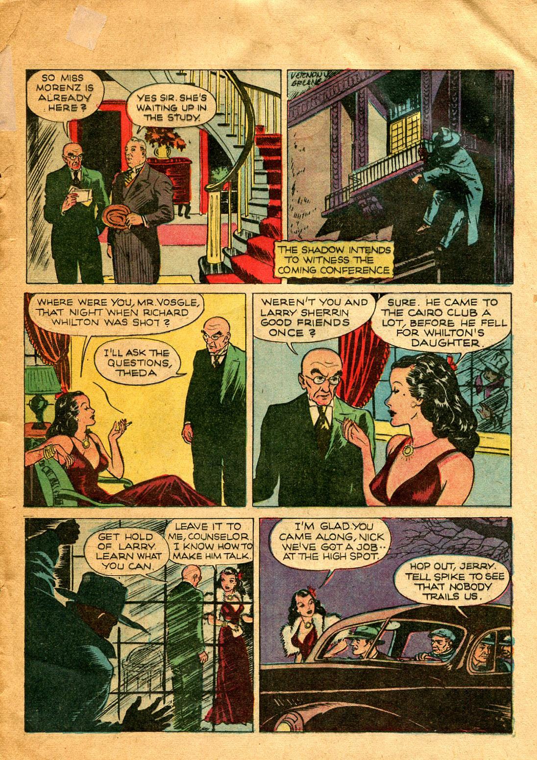 Read online Shadow Comics comic -  Issue #9 - 17