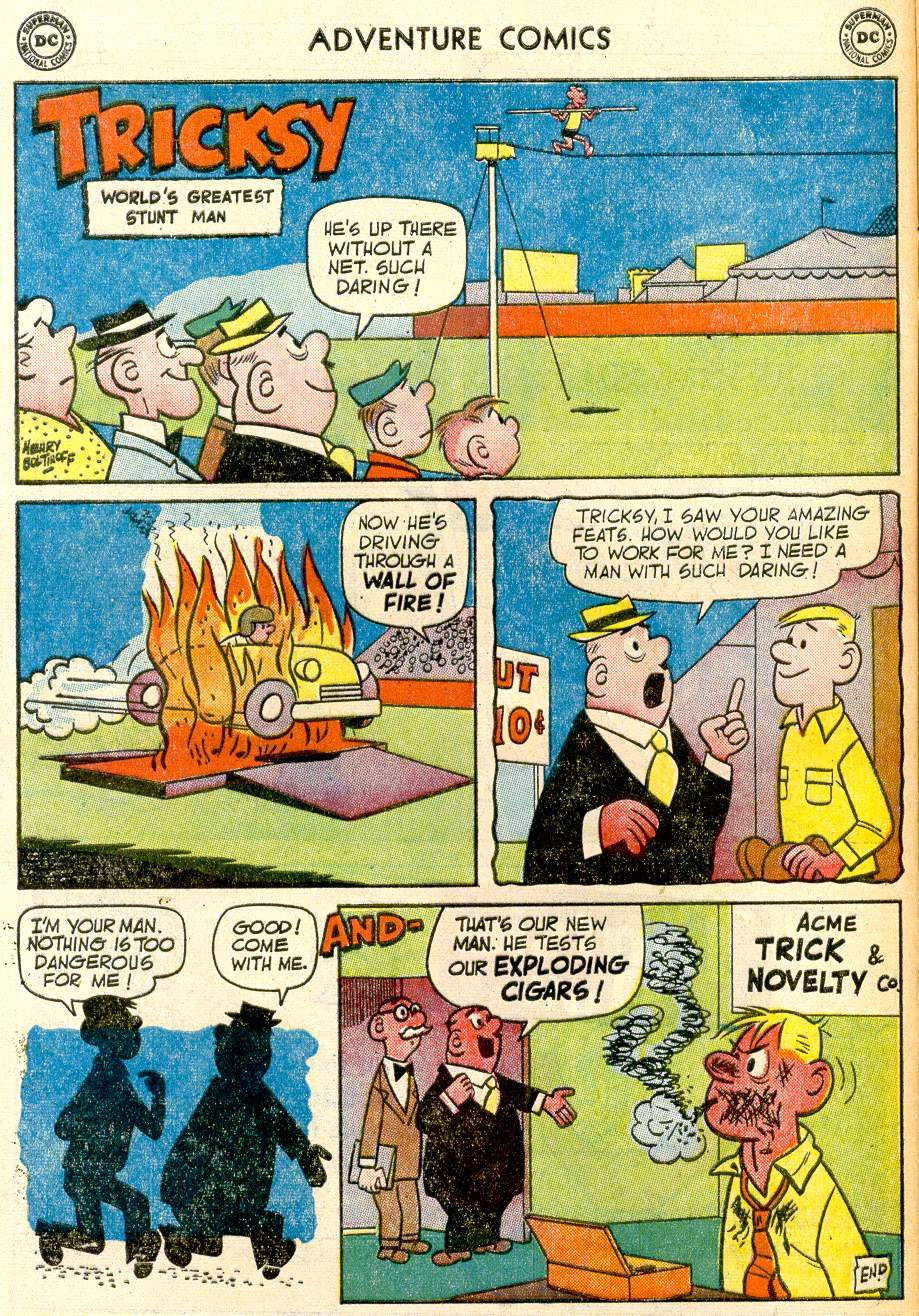 Read online Adventure Comics (1938) comic -  Issue #259 - 16