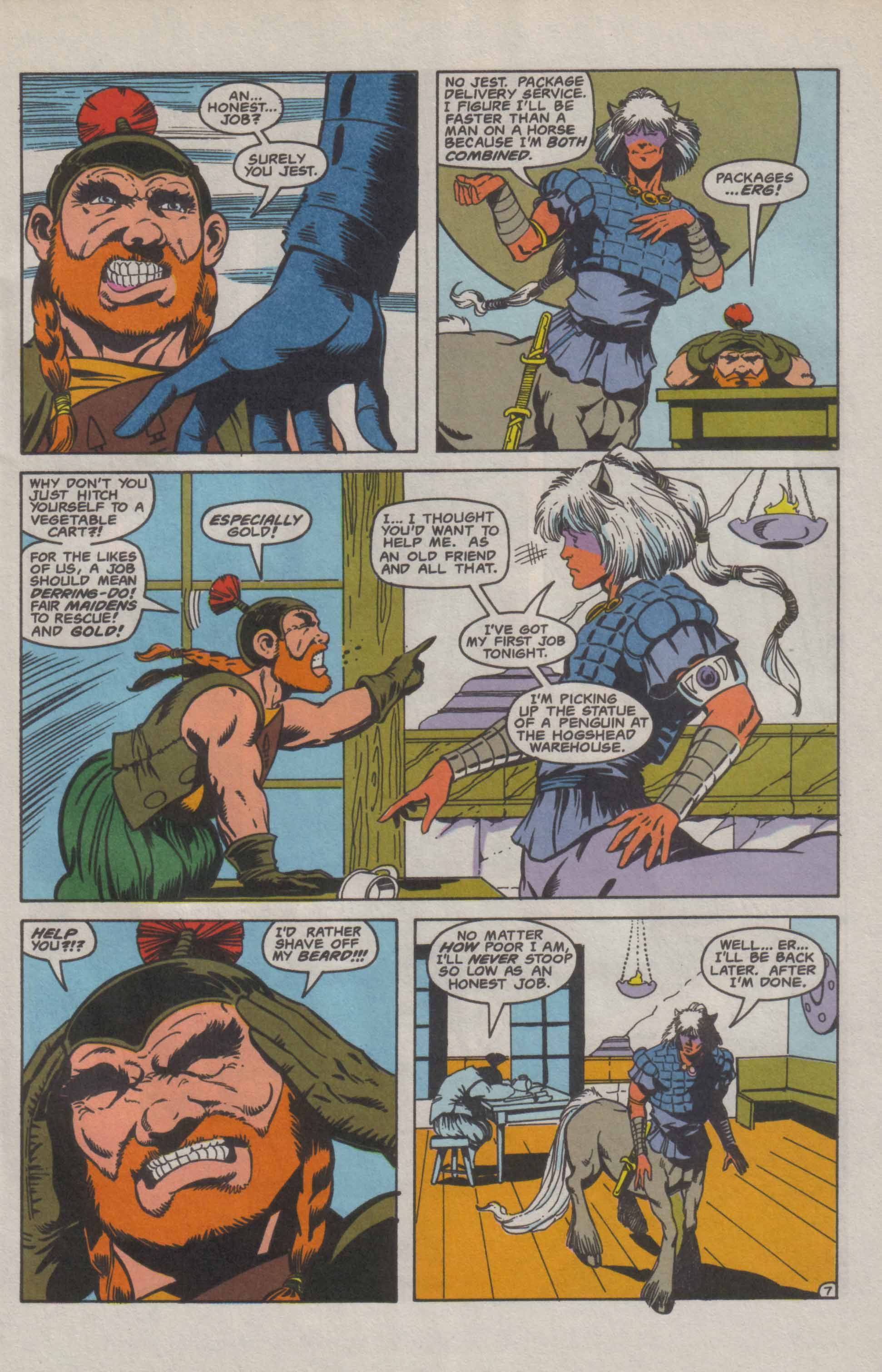 Read online Advanced Dungeons & Dragons comic -  Issue #9 - 8