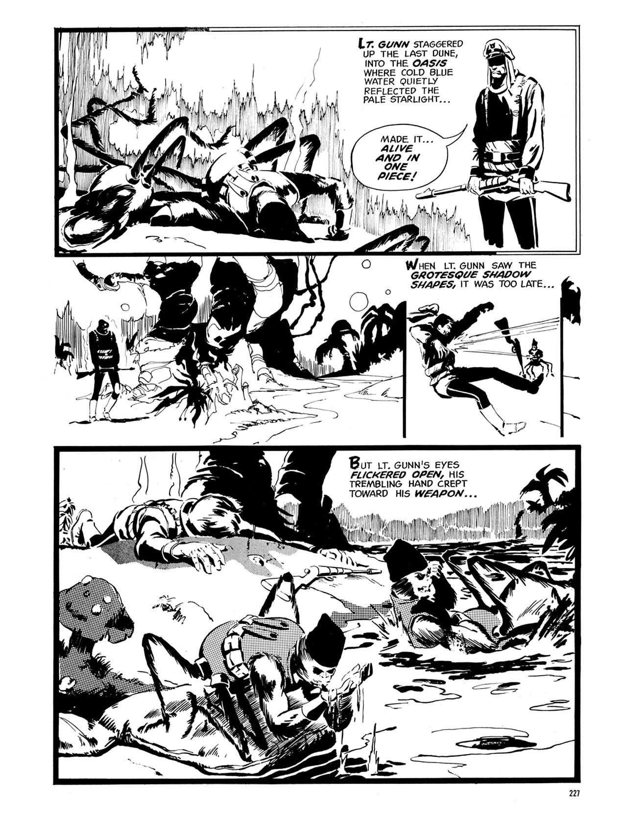 Read online Eerie Archives comic -  Issue # TPB 6 - 226
