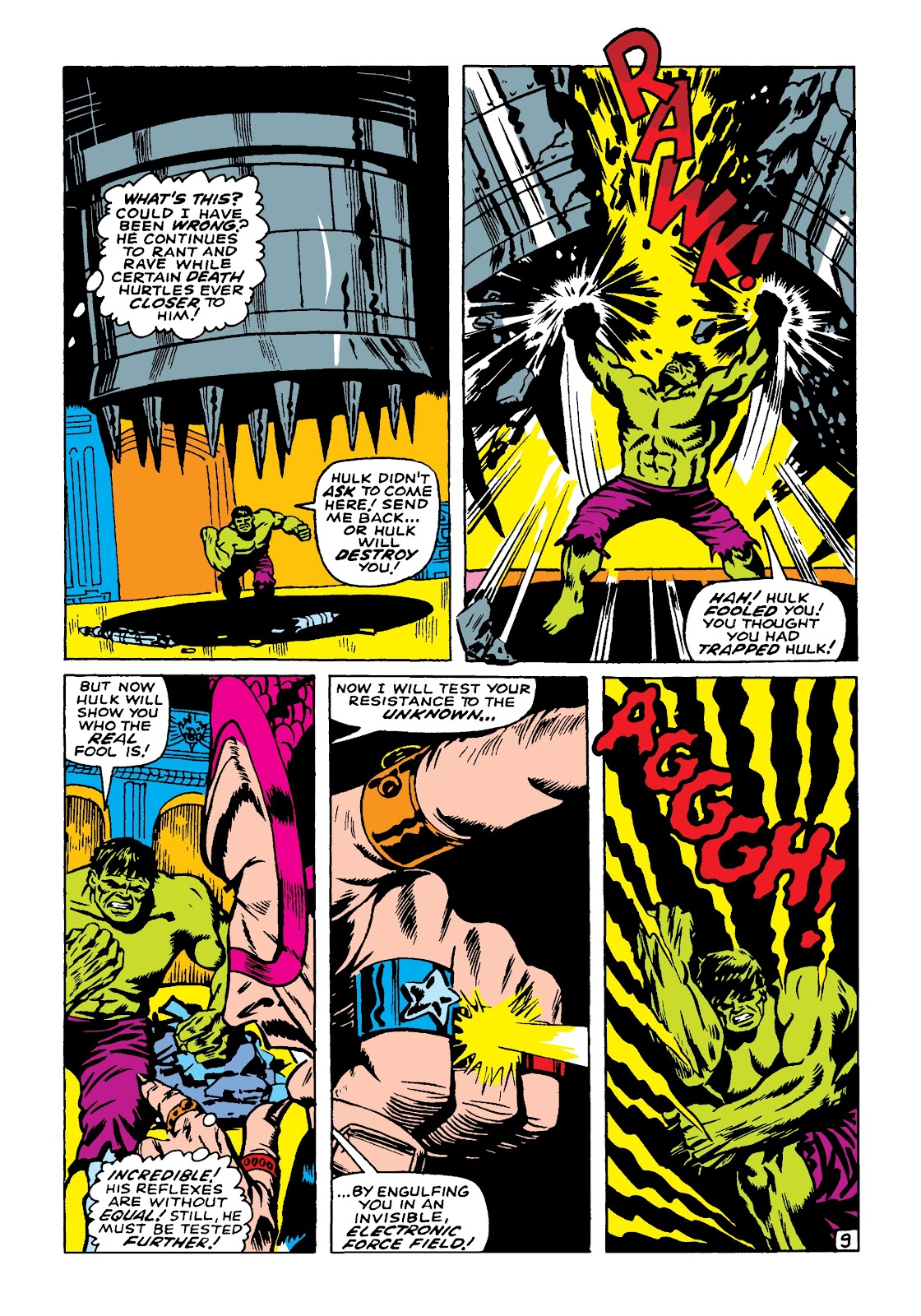 Read online Marvel Masterworks: The Incredible Hulk comic -  Issue # TPB 4 (Part 1) - 100