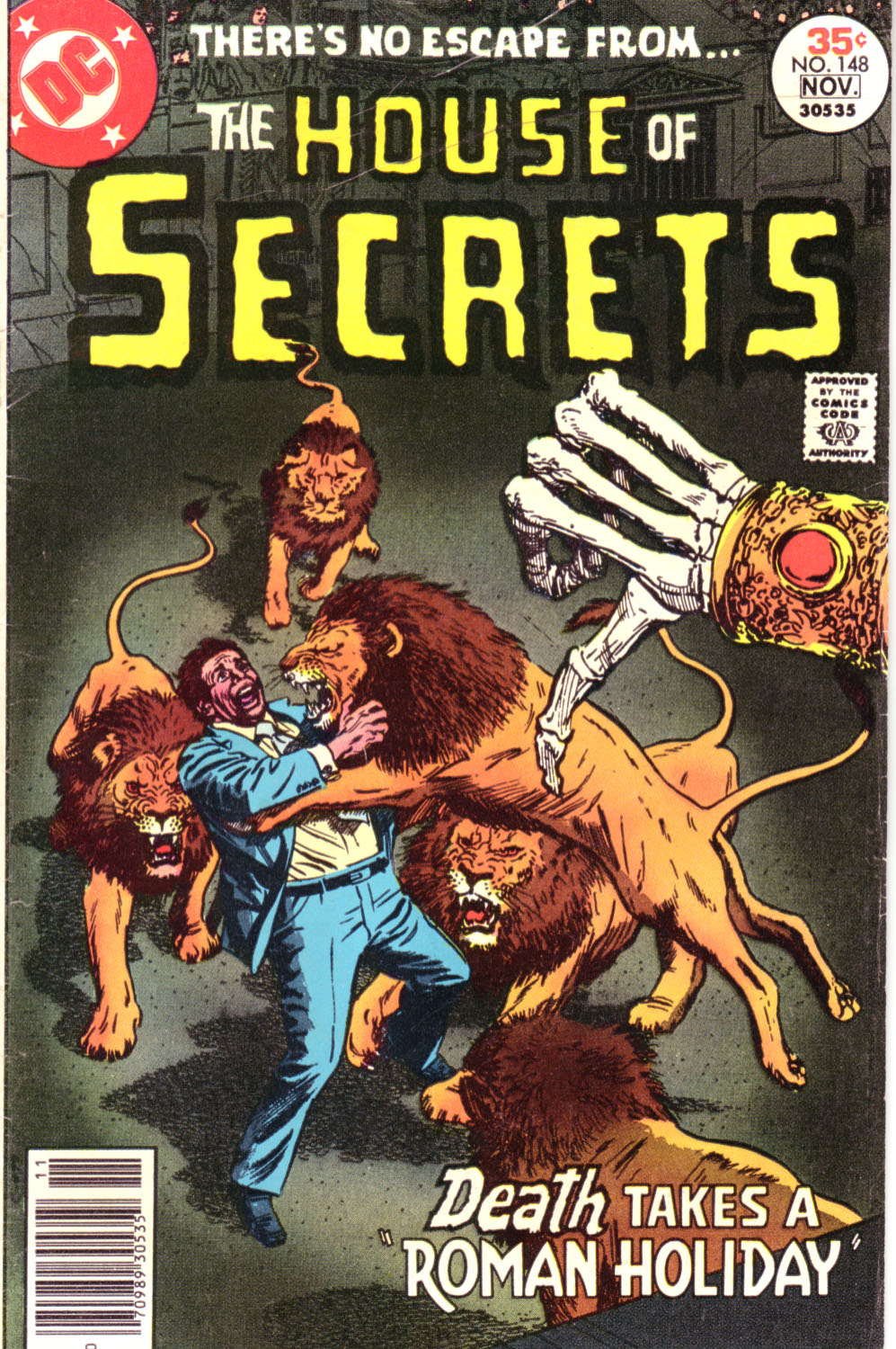 House of Secrets (1956) issue 148 - Page 1