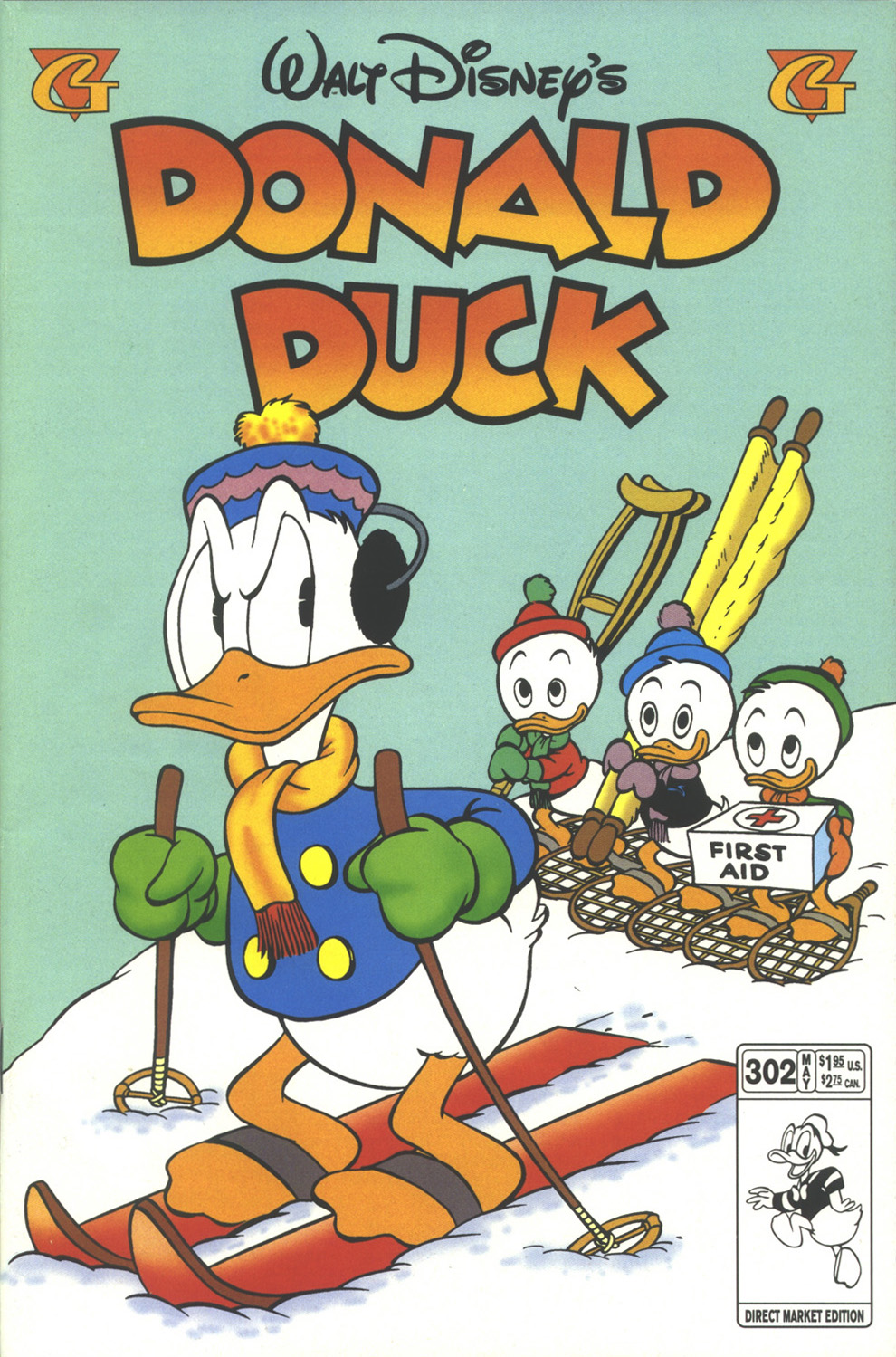 Walt Disney's Donald Duck (1952) issue 302 - Page 1