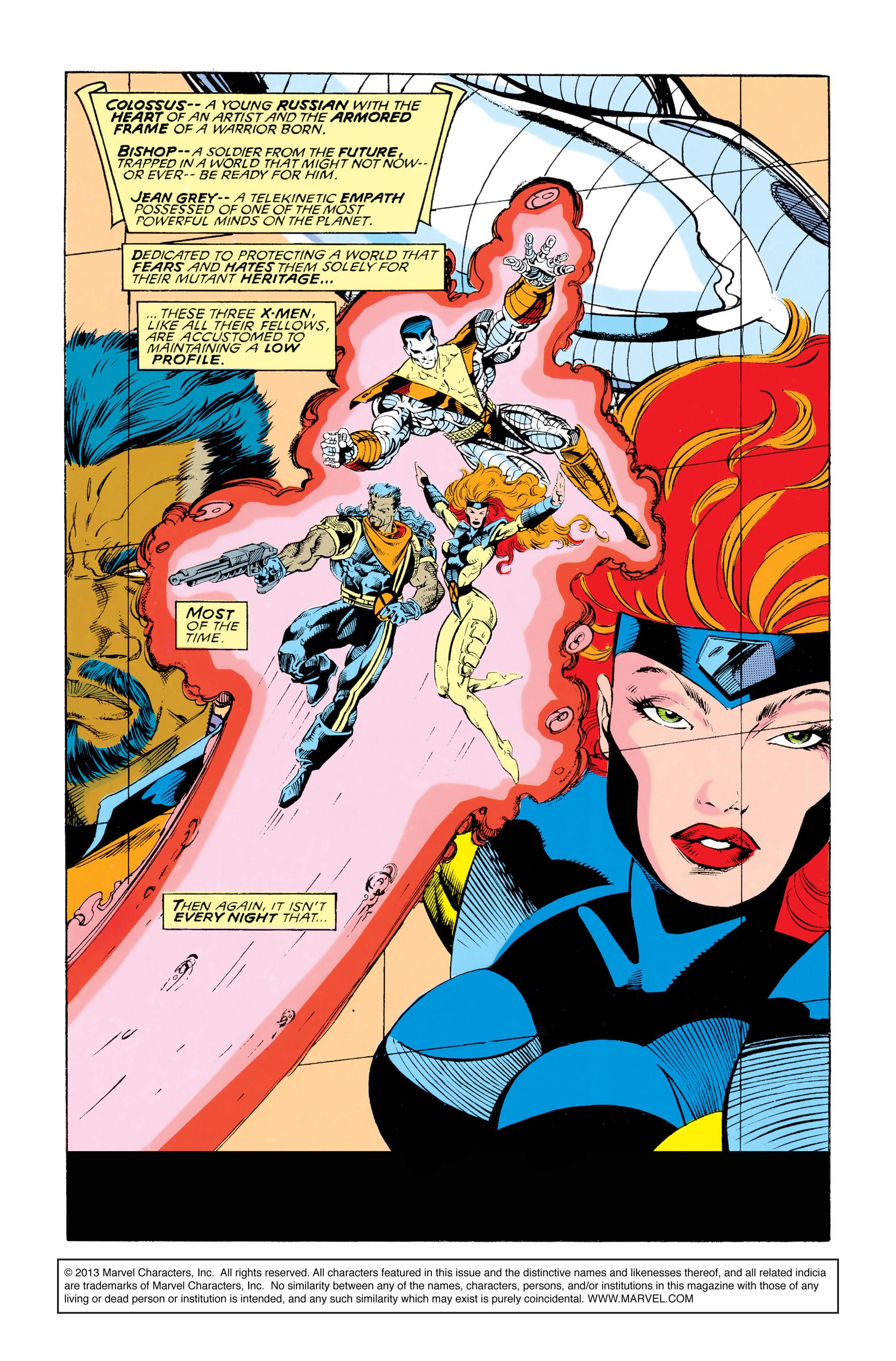 Read online Uncanny X-Men (1963) comic -  Issue #292 - 2