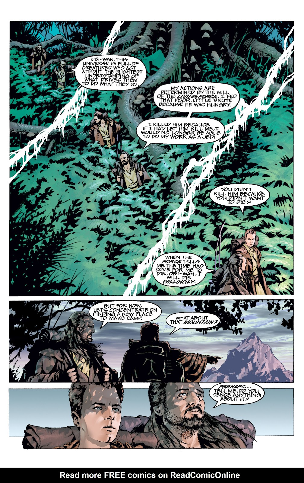 Read online Star Wars Legends: Rise of the Sith - Epic Collection comic -  Issue # TPB 1 (Part 3) - 18