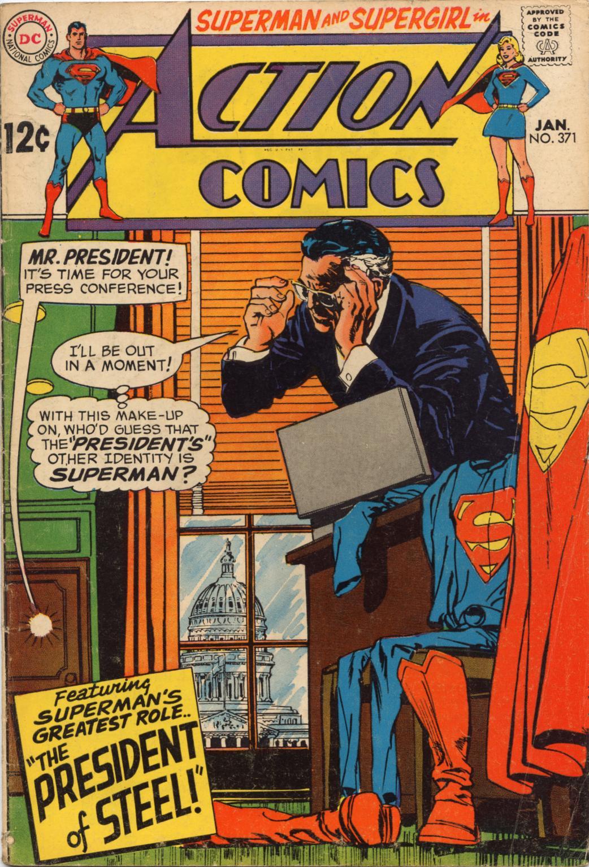 Action Comics (1938) 371 Page 1