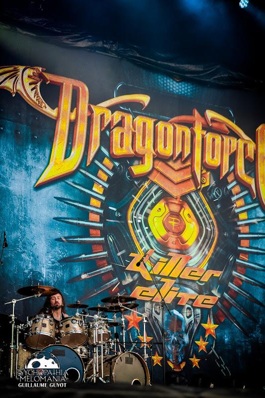 DragonForce @Hellfest 2016 - dimanche 19/06