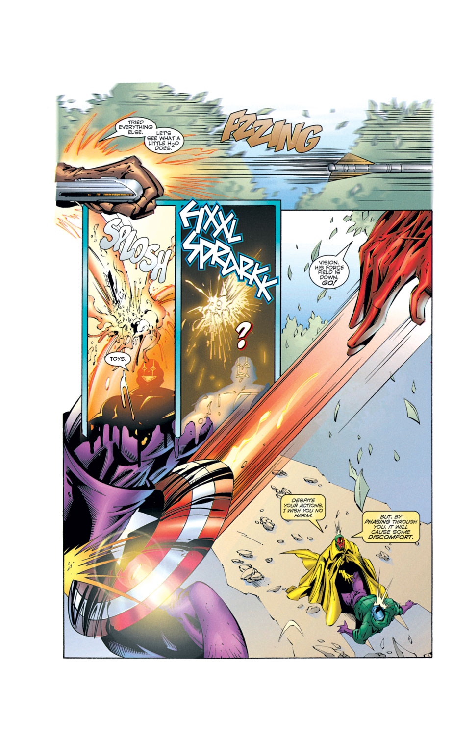 Read online Avengers (1996) comic -  Issue #2 - 16
