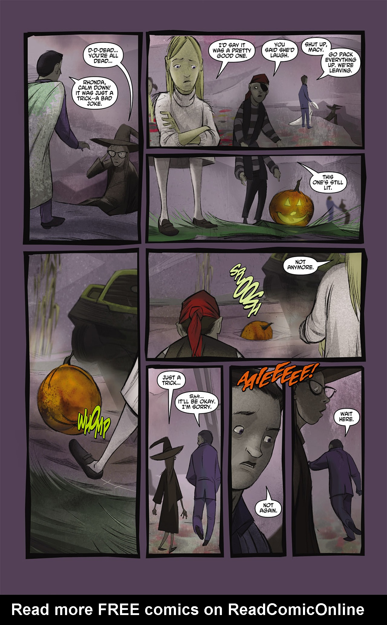 Read online Trick 'r Treat comic -  Issue #2 - 19