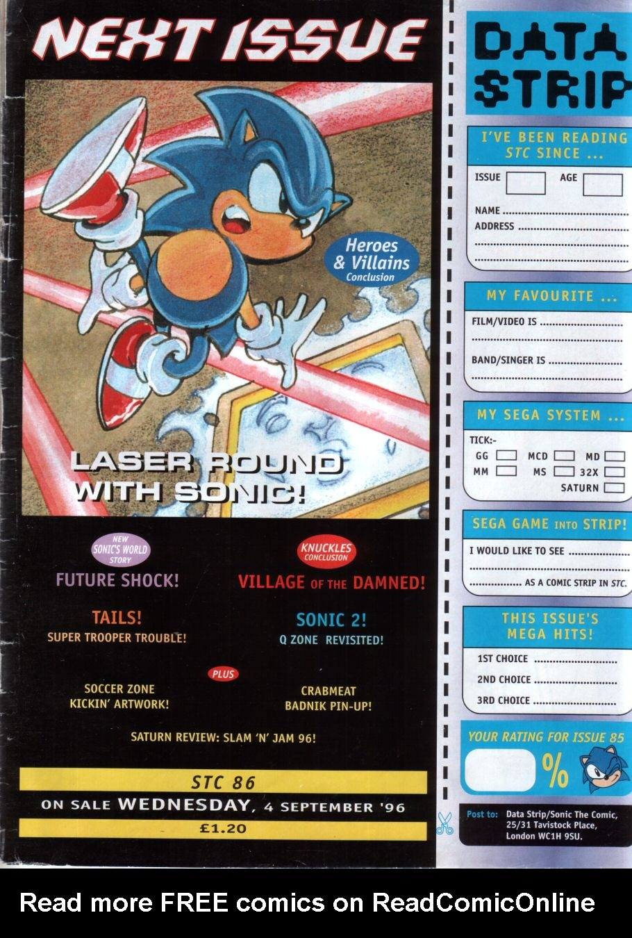 Read online Sonic the Comic comic -  Issue #85 - 32
