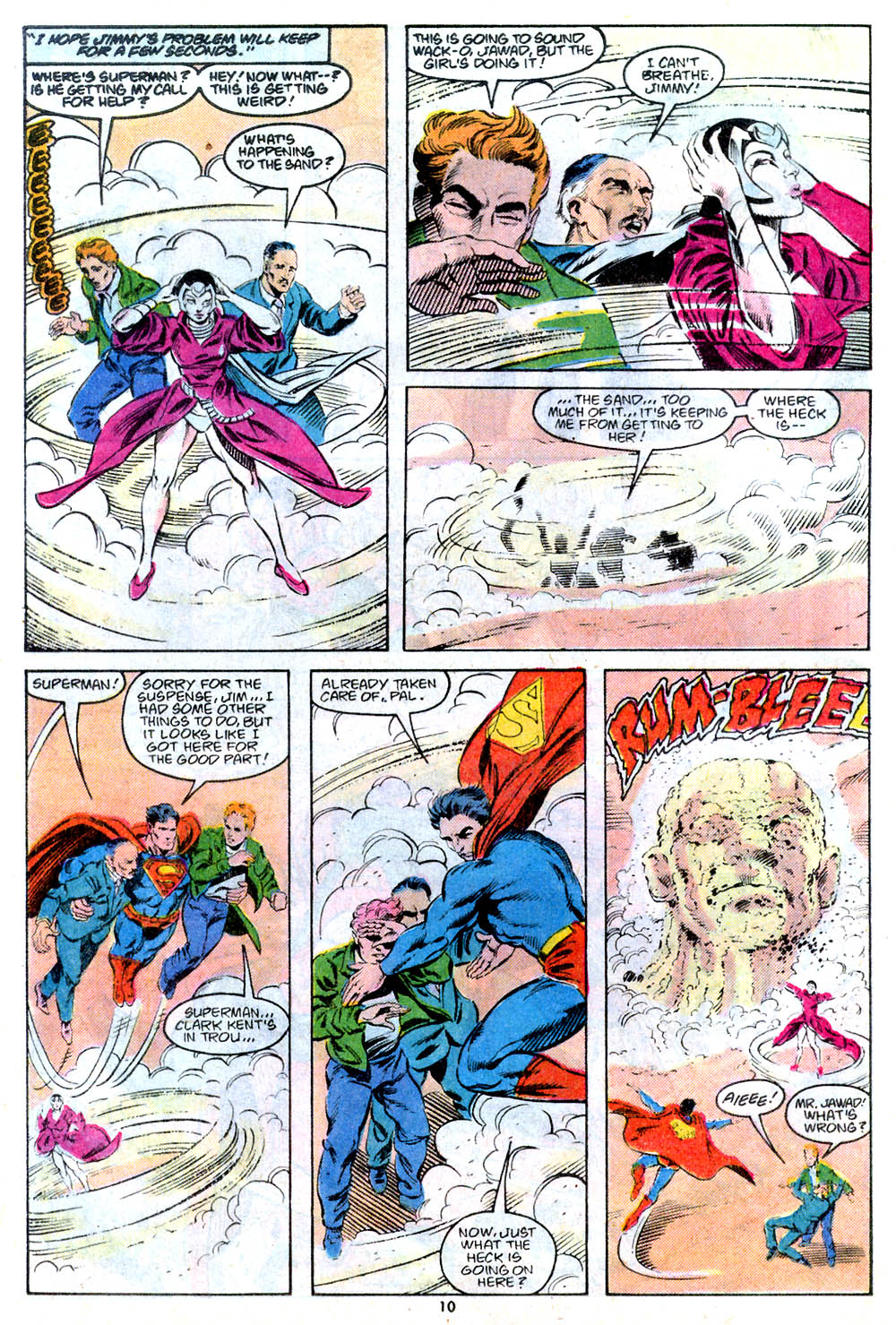 Read online Adventures of Superman (1987) comic -  Issue #443 - 11