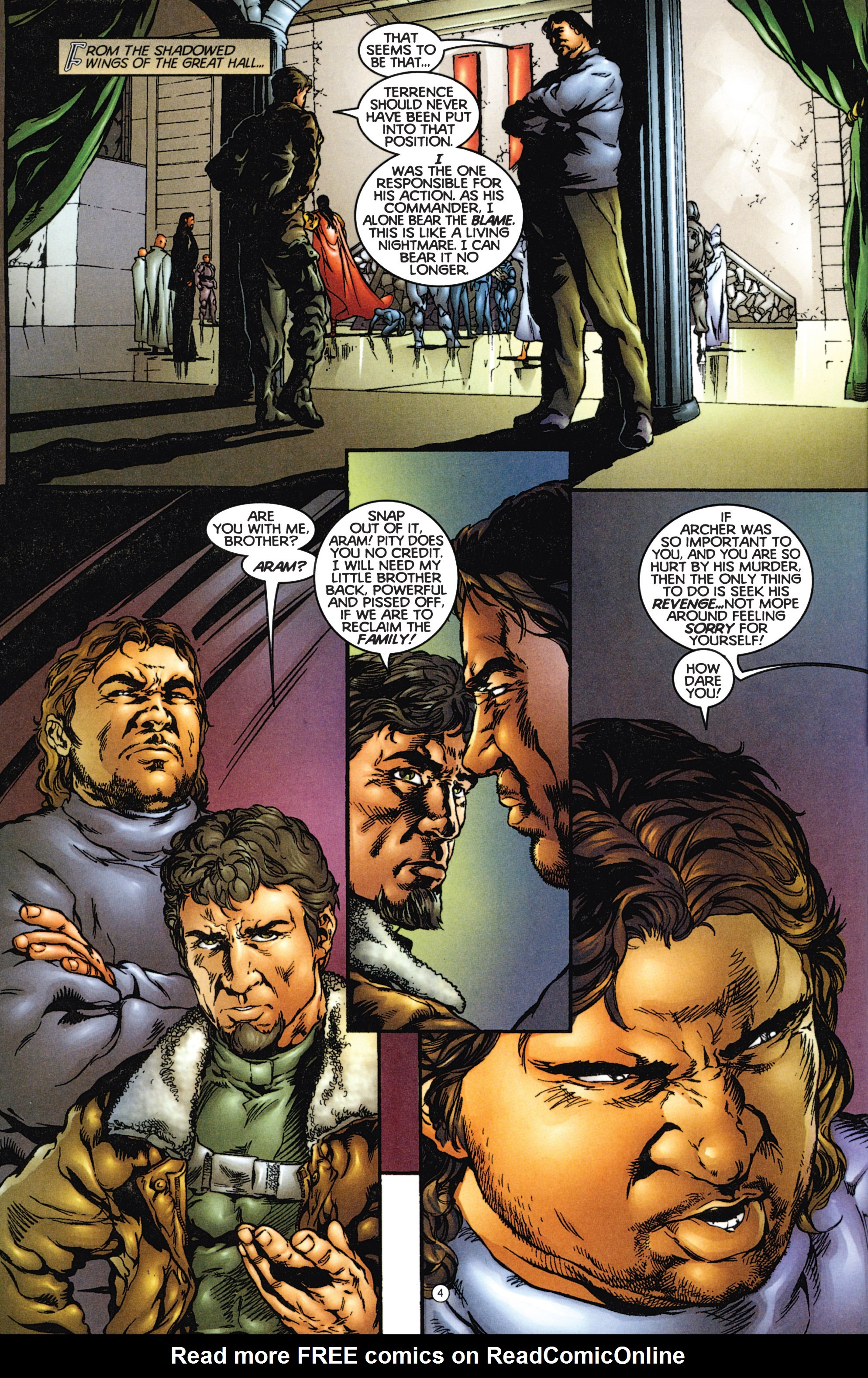 Read online Eternal Warriors comic -  Issue # Issue The Immortal Enemy - 5