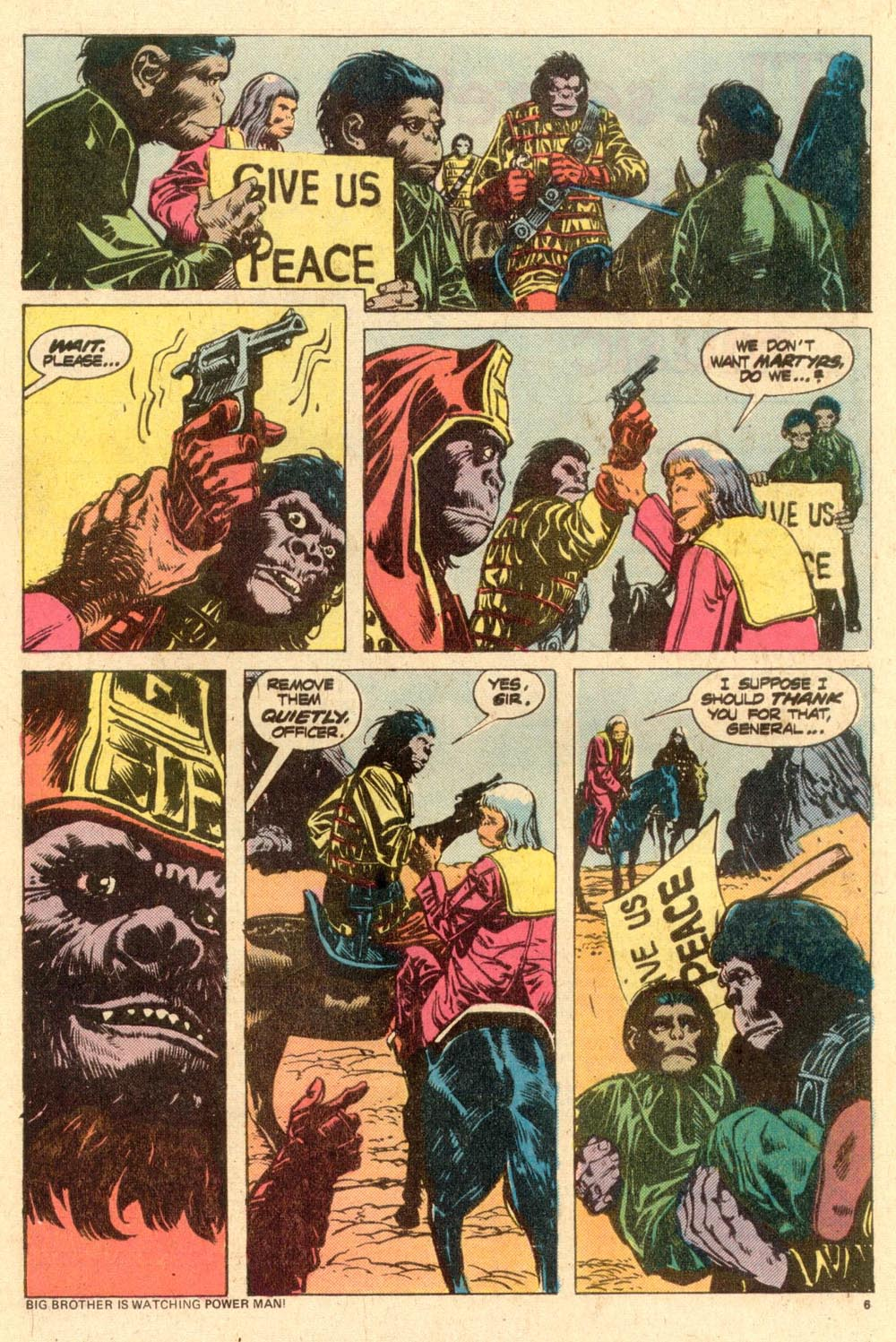 Read online Adventures on the Planet of the Apes comic -  Issue #10 - 5
