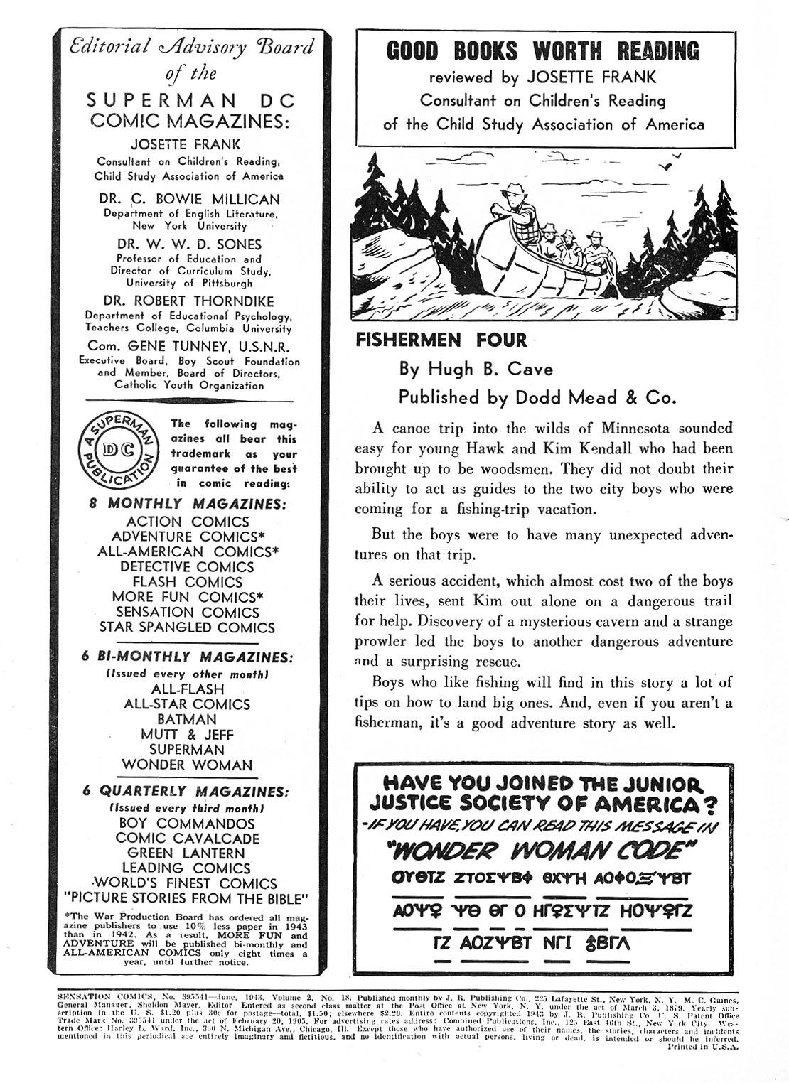 Read online Sensation (Mystery) Comics comic -  Issue #18 - 2