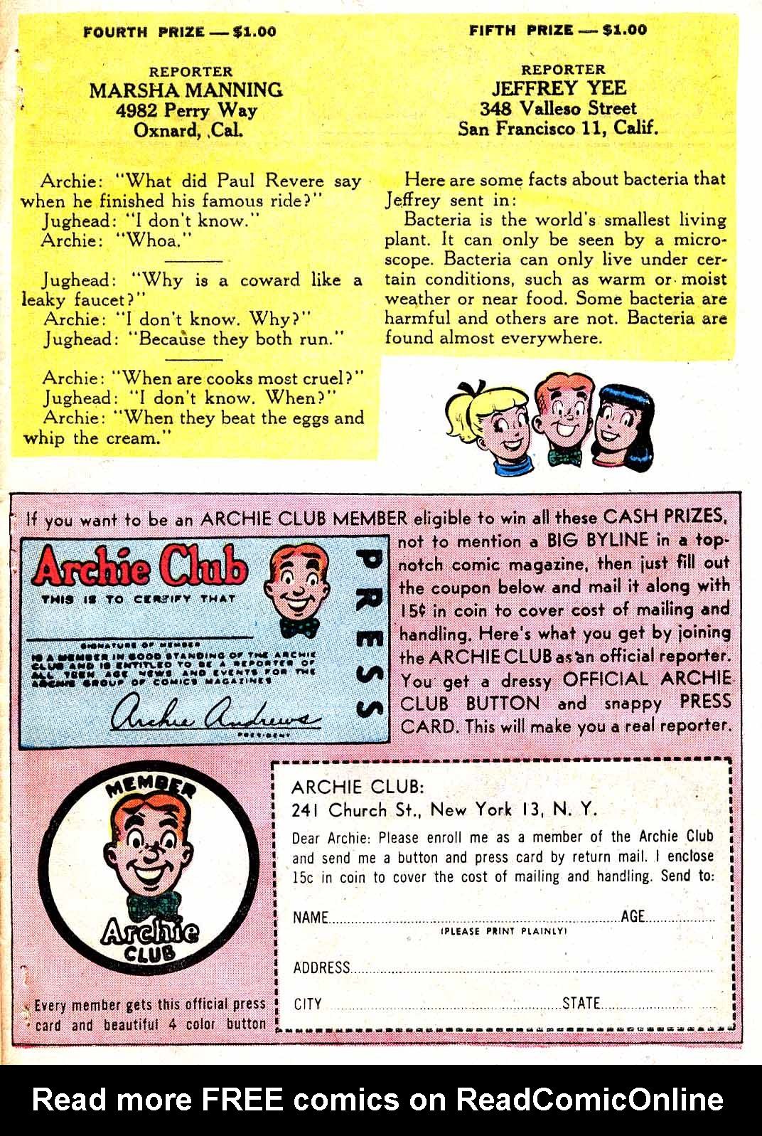 Read online Archie (1960) comic -  Issue #115 - 27