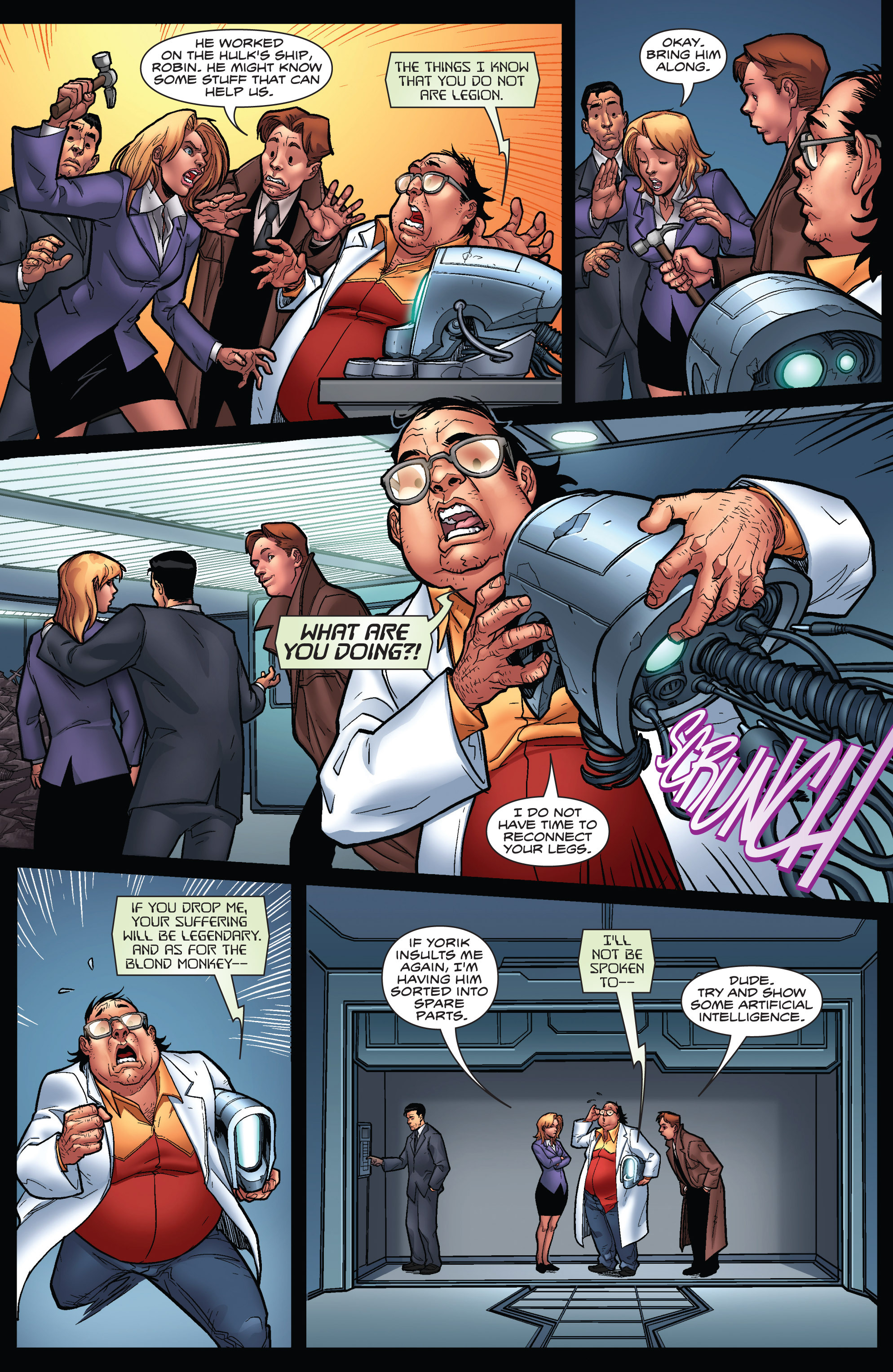 Read online WWH Aftersmash: Damage Control comic -  Issue #3 - 12