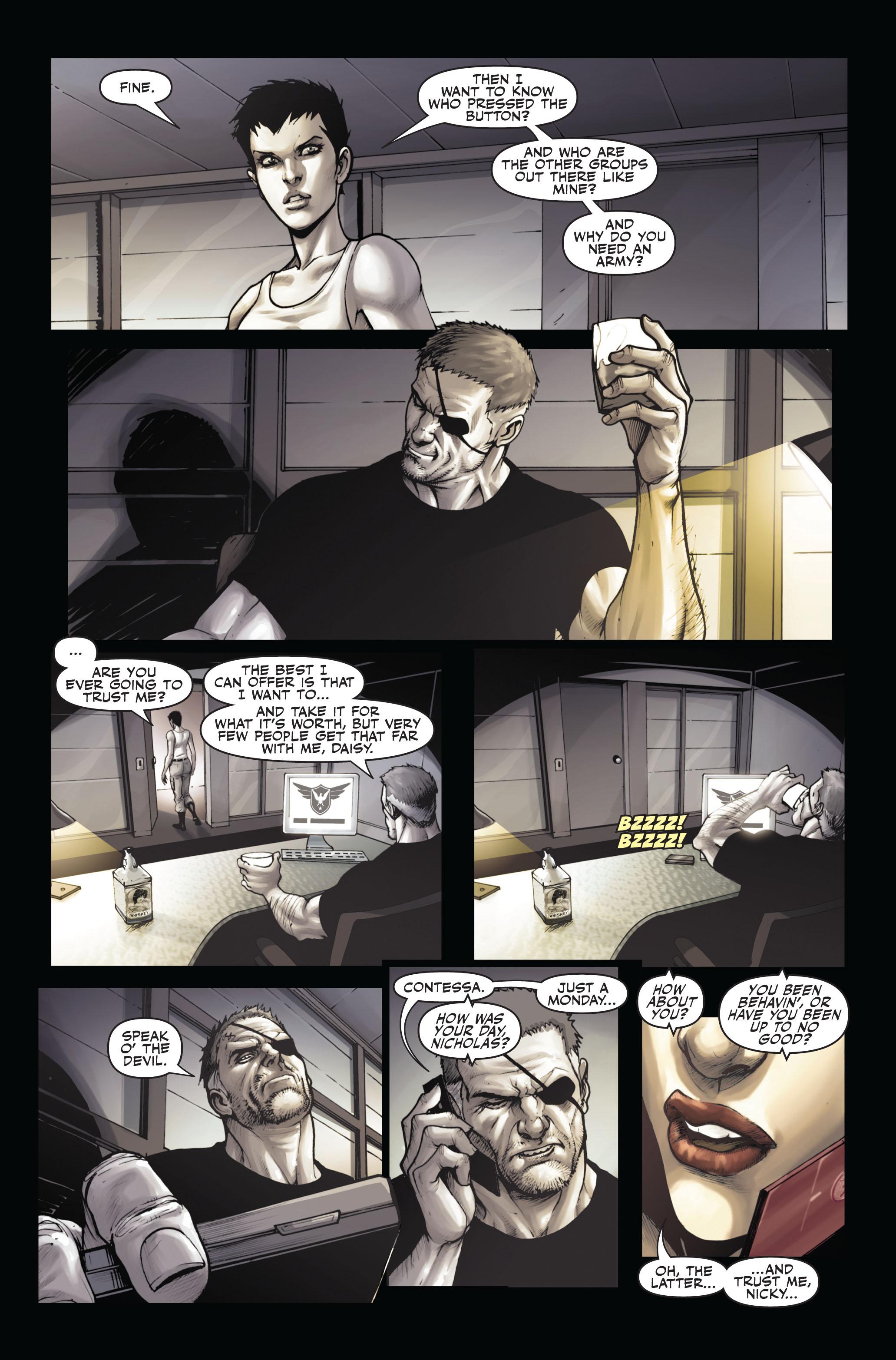 Read online Secret Warriors comic -  Issue #6 - 22