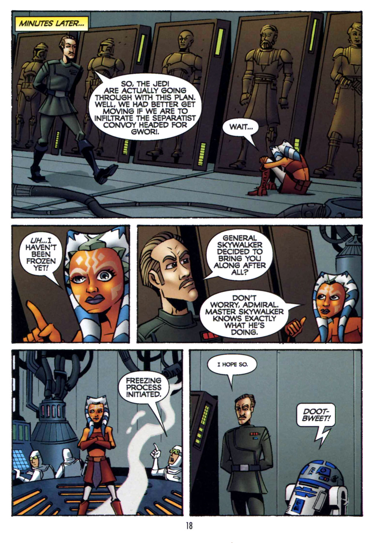 Read online Star Wars: The Clone Wars - Shipyards of Doom comic -  Issue # Full - 17