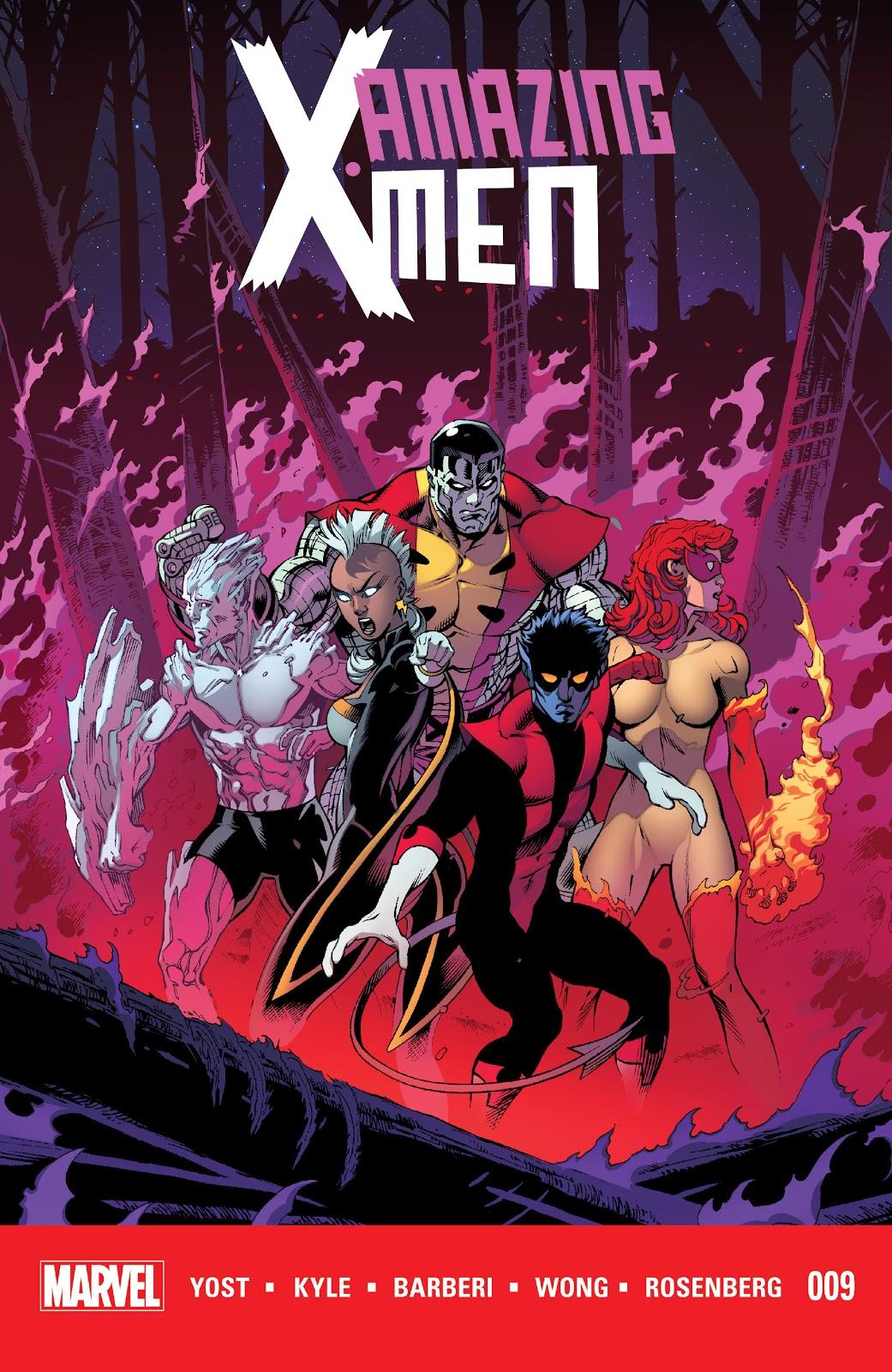 Amazing X-Men (2014) 9 Page 1