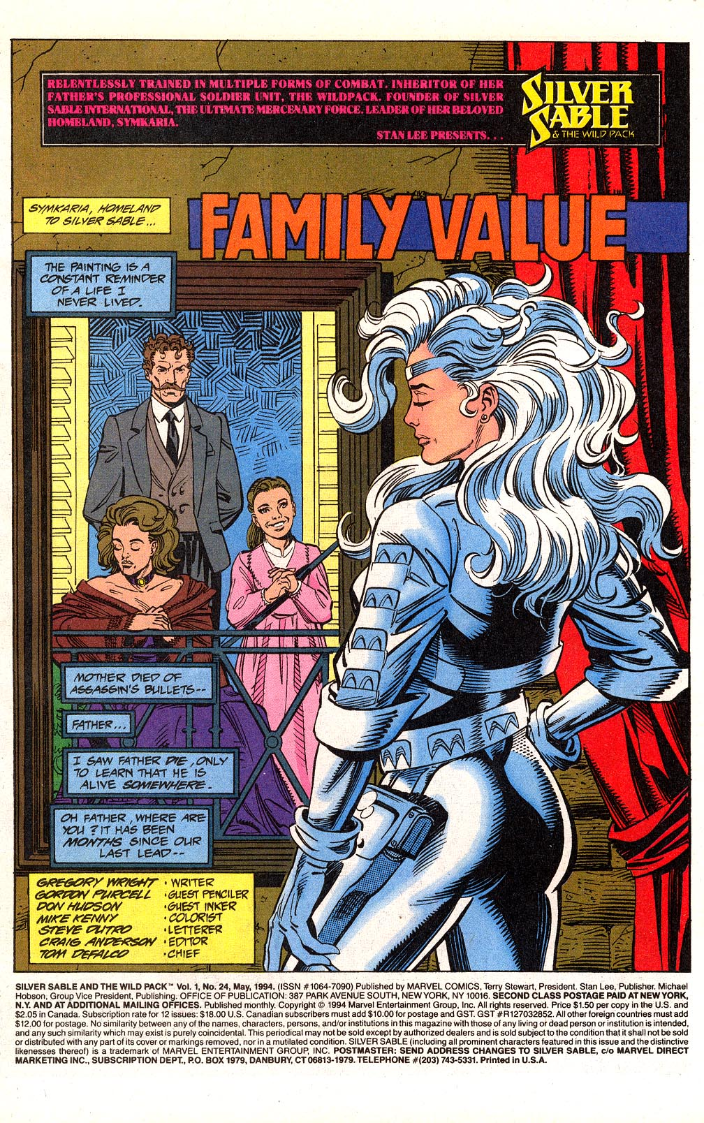 Read online Silver Sable and the Wild Pack comic -  Issue #24 - 3