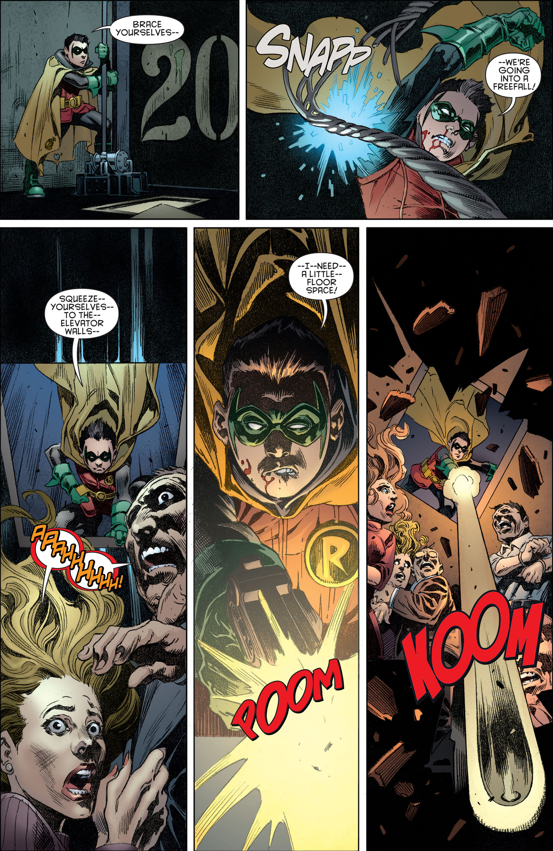Read online Batman and Robin (2011) comic -  Issue #14 - 11
