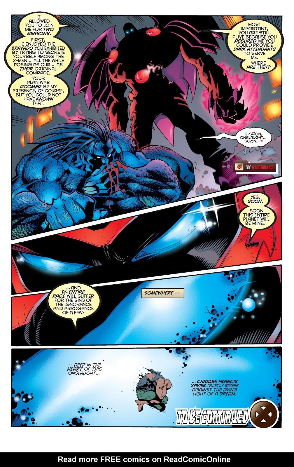 Uncanny X-Men (1963) issue 335 - Page 22
