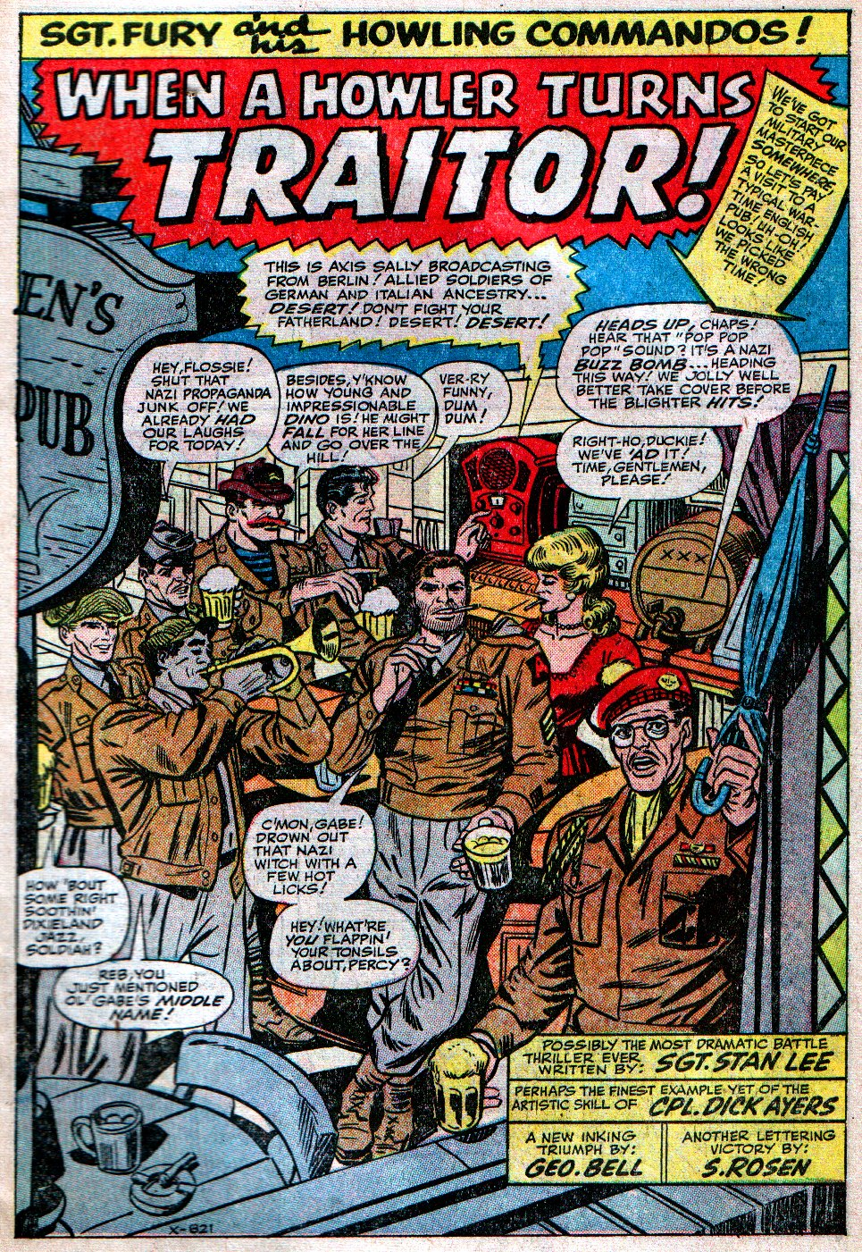 Read online Sgt. Fury comic -  Issue #12 - 3