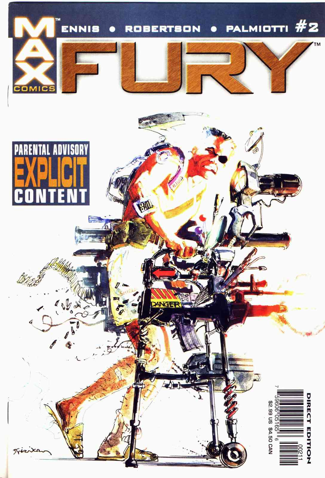 Read online Fury comic -  Issue #2 - 1