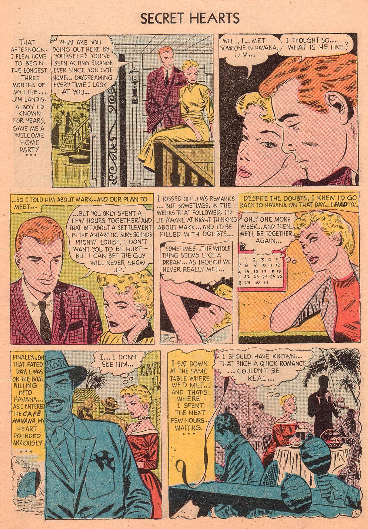 Read online Secret Hearts comic -  Issue #27 - 15