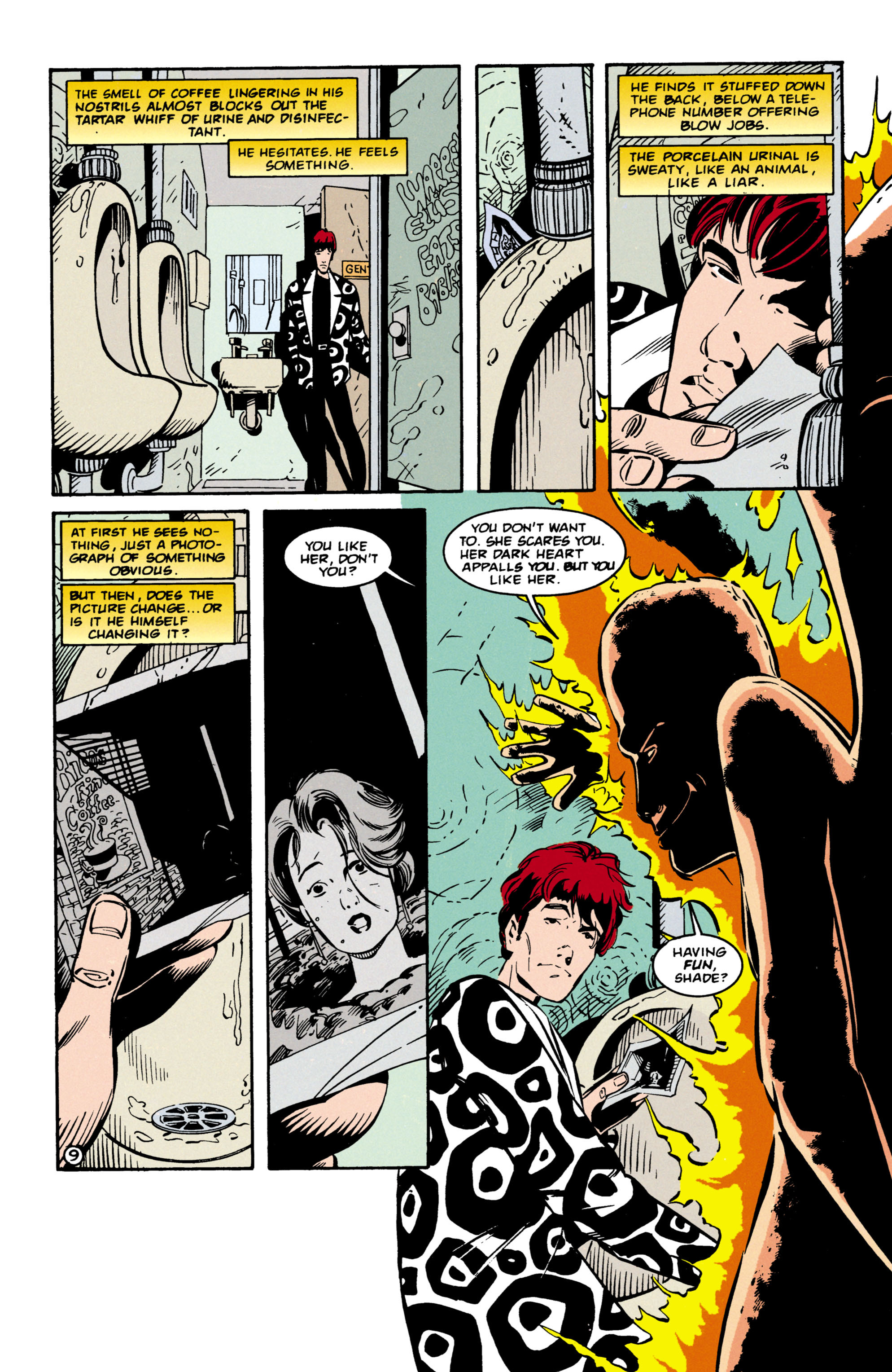 Read online Shade, the Changing Man comic -  Issue #57 - 10