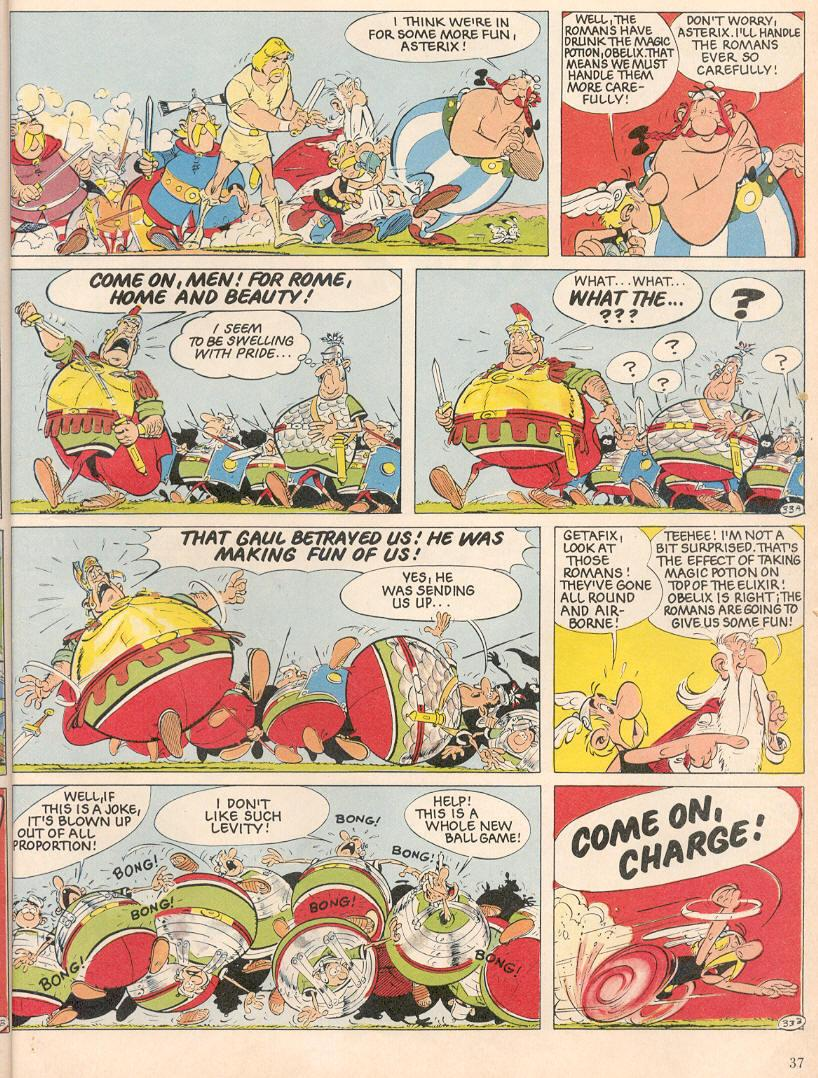 Read online Asterix comic -  Issue #25 - 34