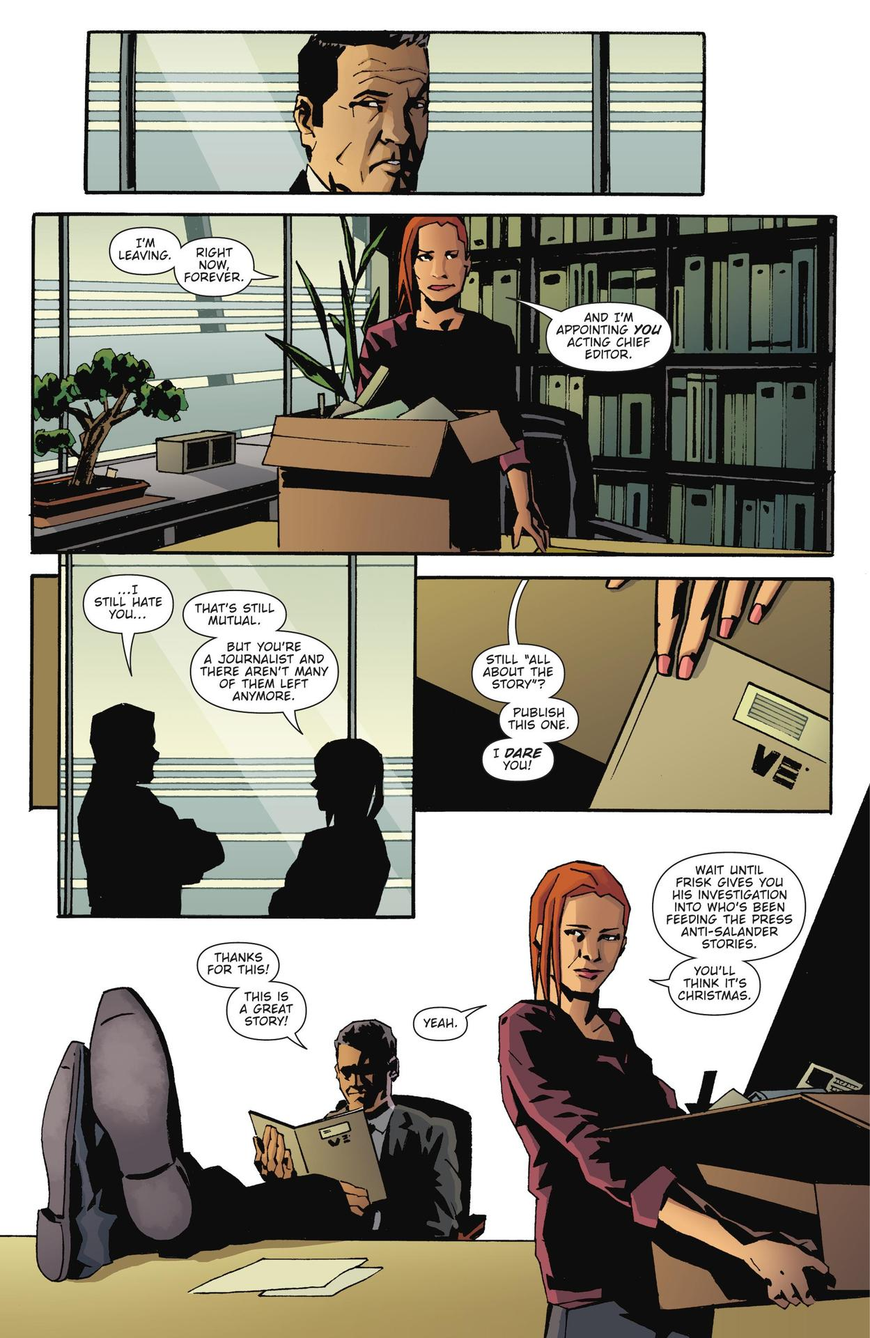 Read online The Girl Who Kicked The Hornet's Nest comic -  Issue # TPB - 202