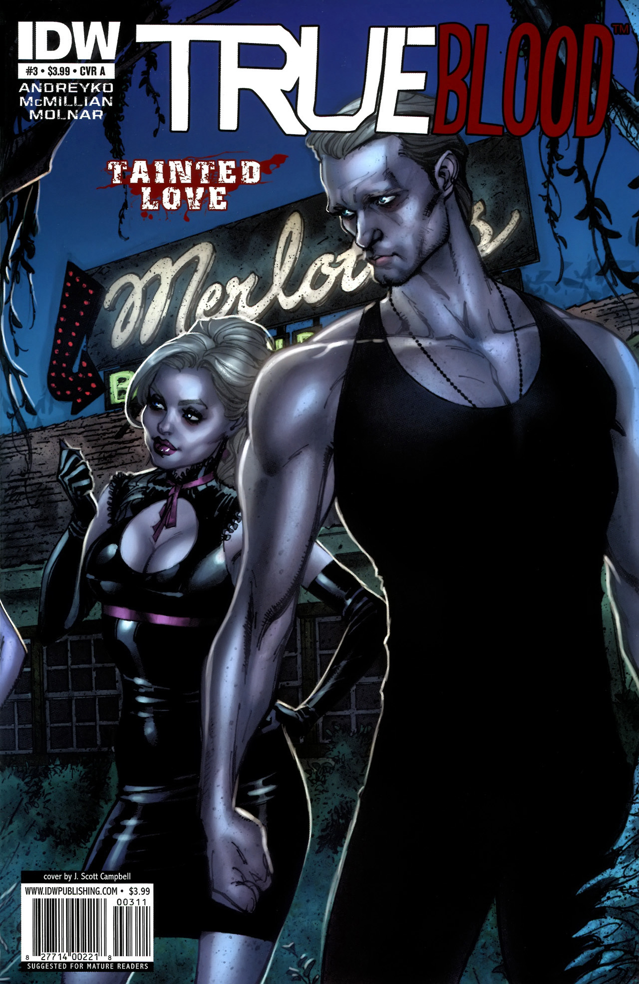 Read online True Blood: Tainted Love comic -  Issue #3 - 1