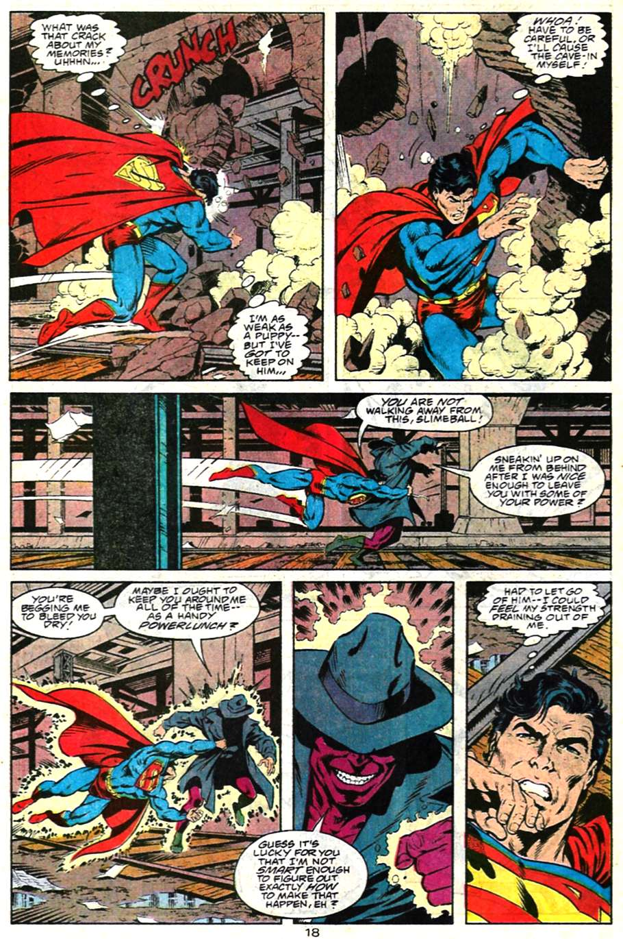 Read online Adventures of Superman (1987) comic -  Issue #481 - 19