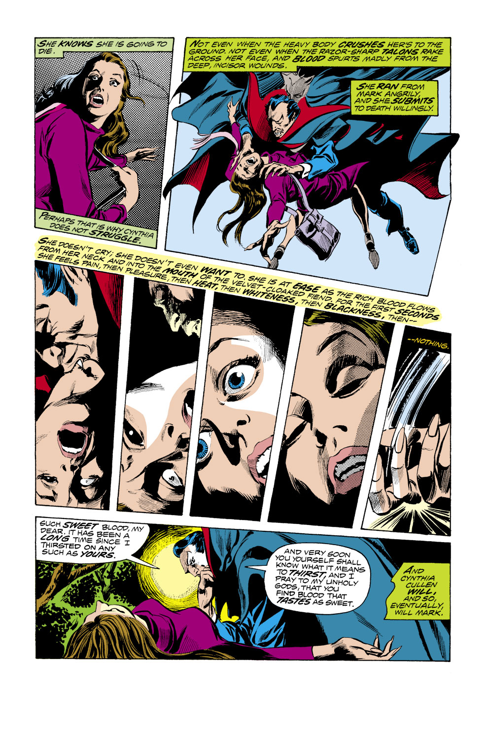 Tomb of Dracula (1972) issue 41 - Page 8