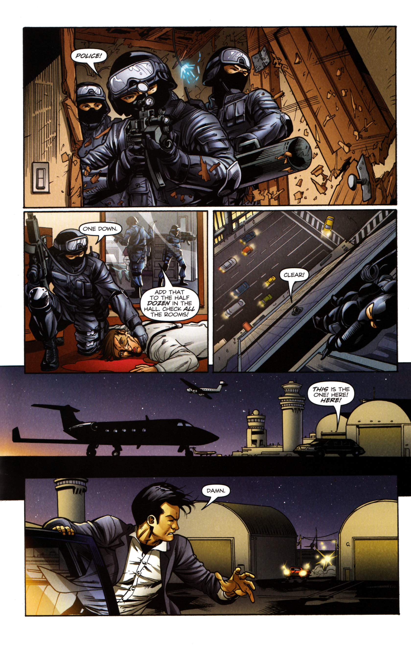 Read online Snake Eyes and Storm Shadow comic -  Issue #14 - 22
