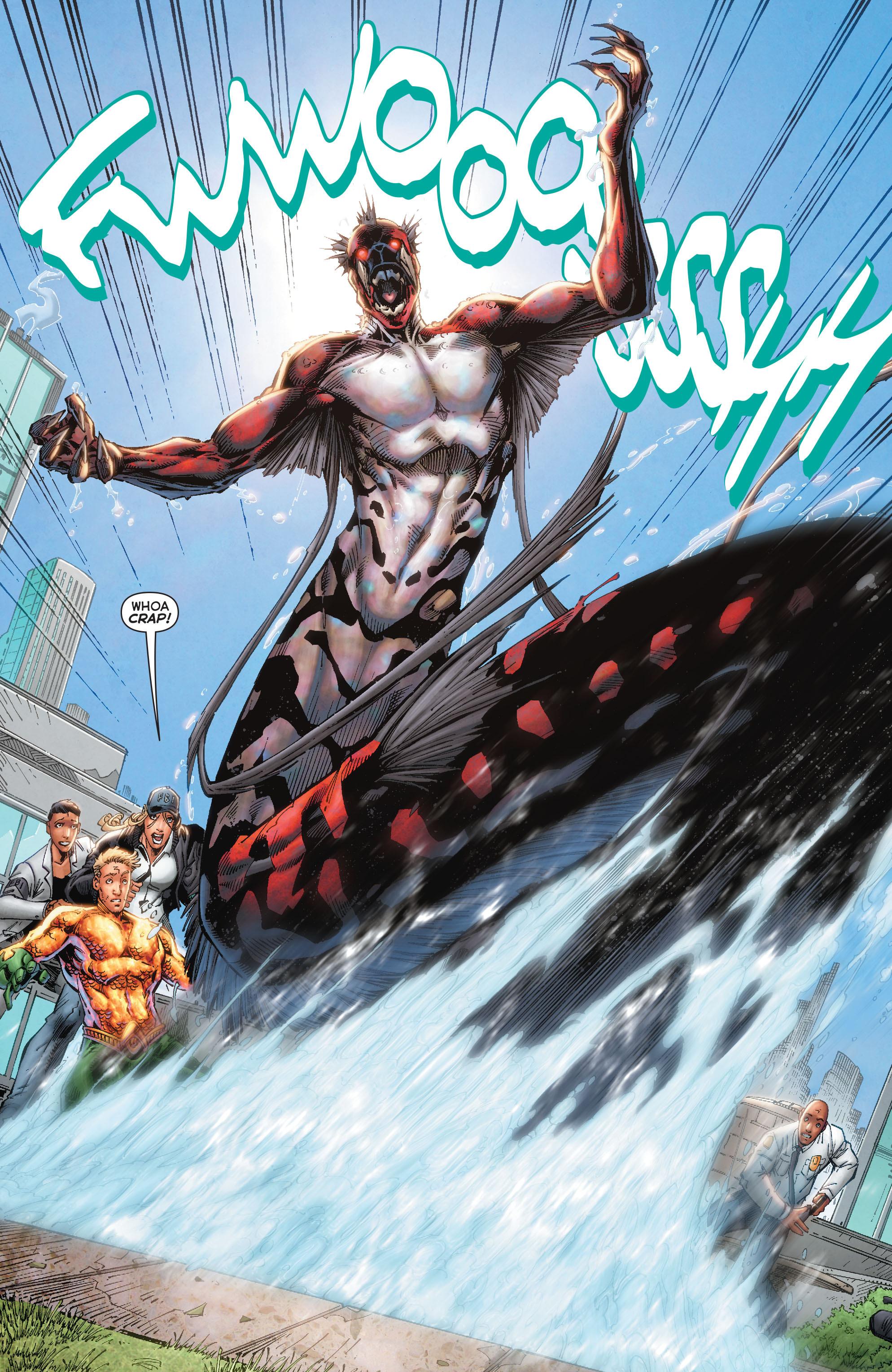 Read online Aquaman (2011) comic -  Issue #50 - 18