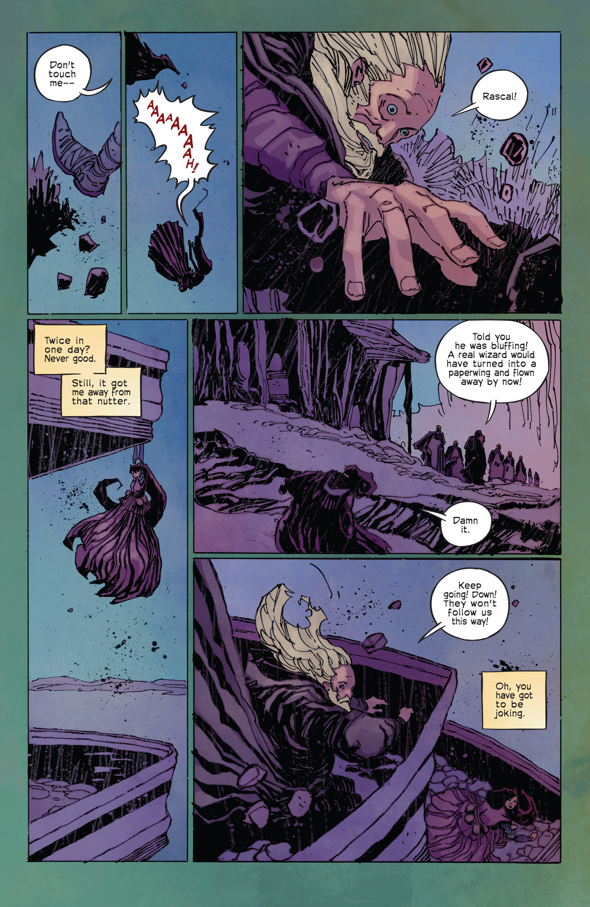 Read online Umbral comic -  Issue #2 - 17