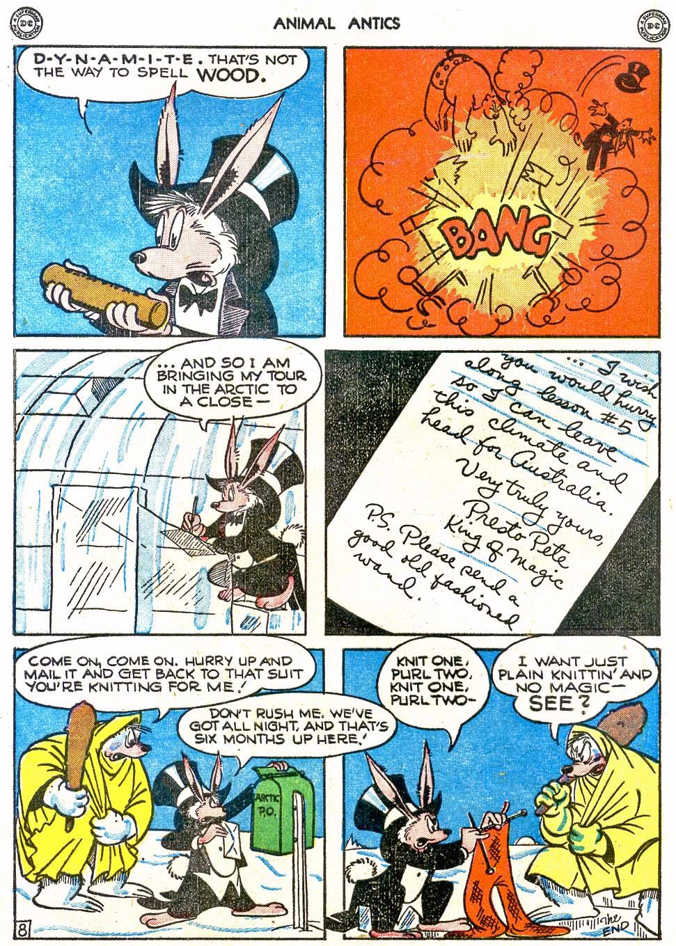 Read online Animal Antics comic -  Issue #4 - 10