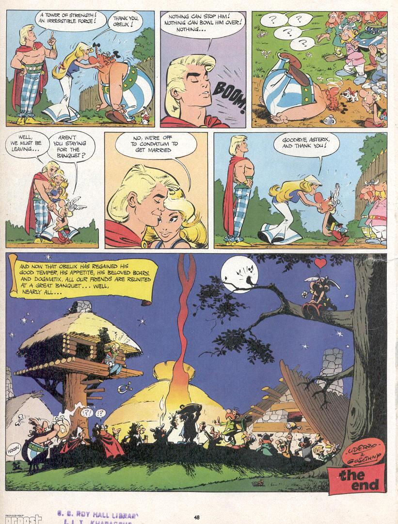 Read online Asterix comic -  Issue #10 - 45