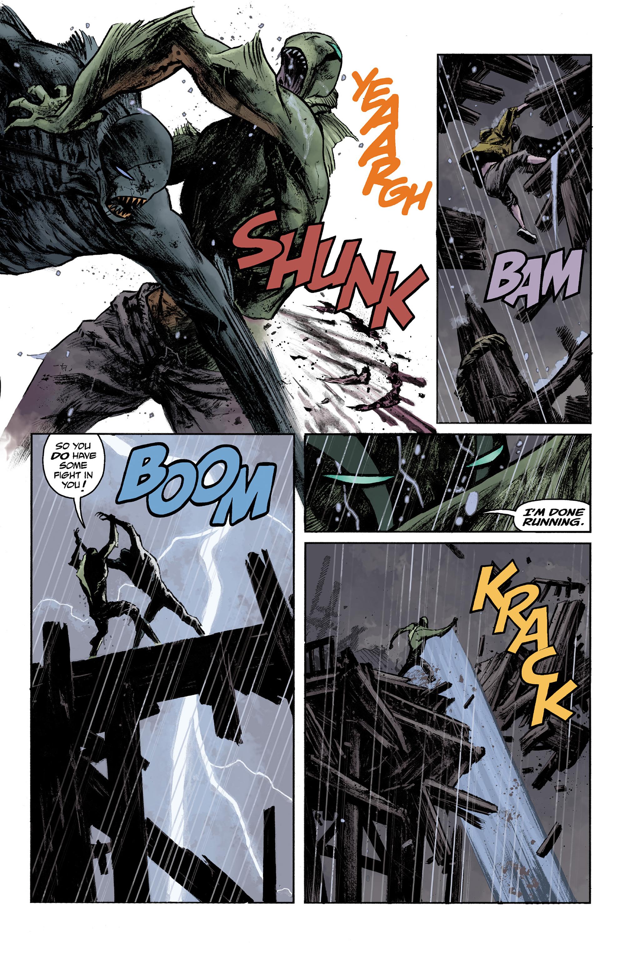Read online Abe Sapien comic -  Issue #36 - 19