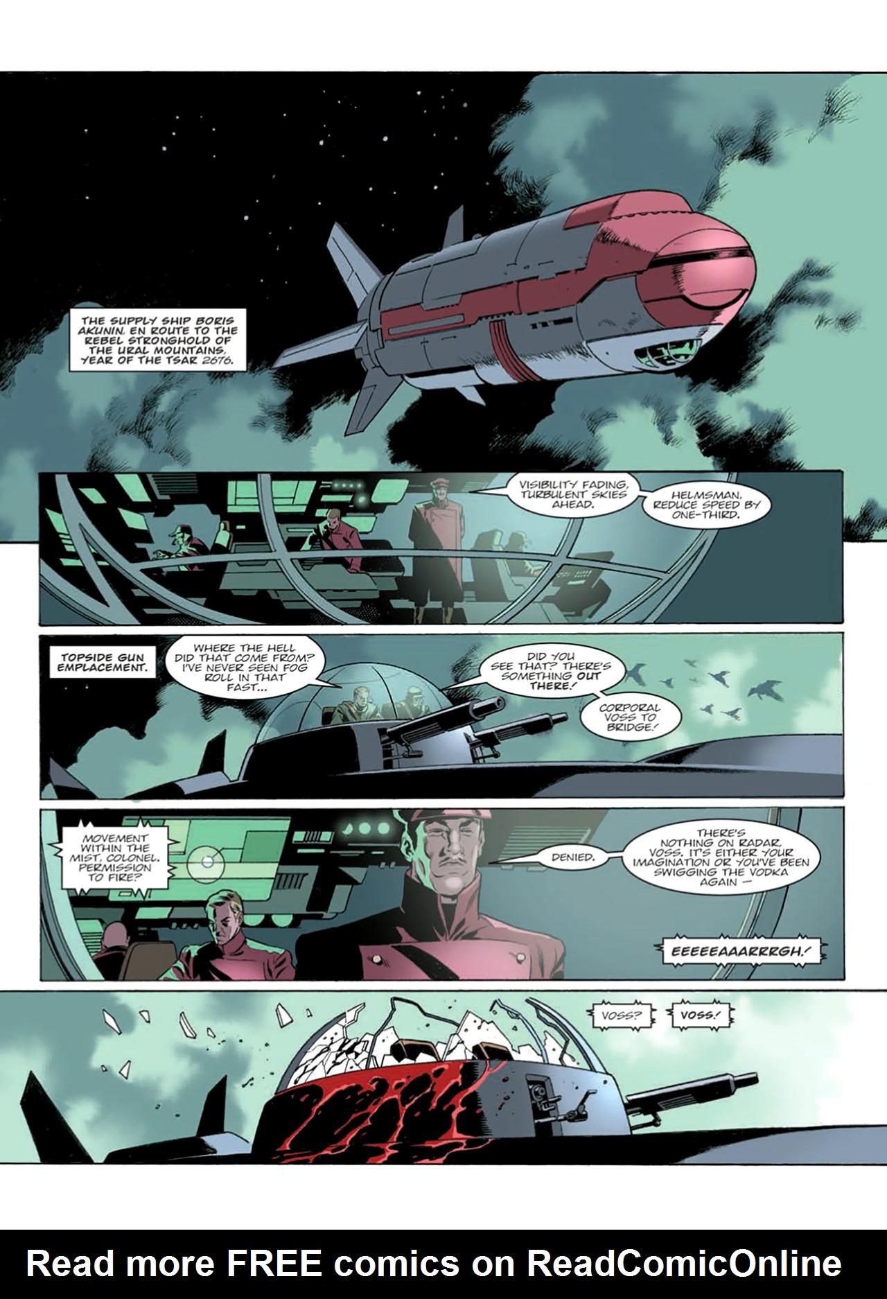 Read online Nikolai Dante comic -  Issue # TPB 9 - 158