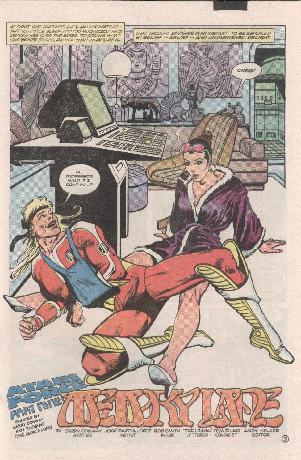 Read online Atari Force (1984) comic -  Issue #9 - 4