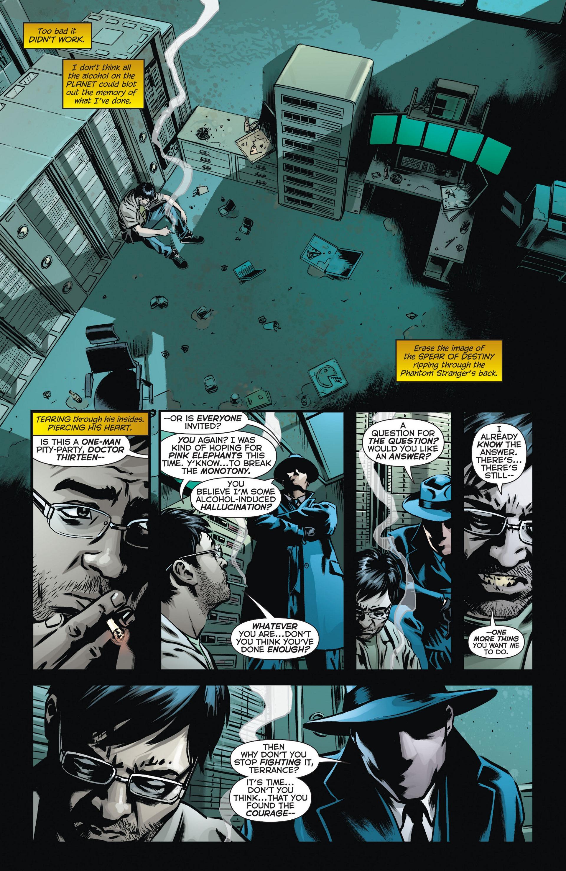 Read online Trinity of Sin: The Phantom Stranger comic -  Issue #10 - 12