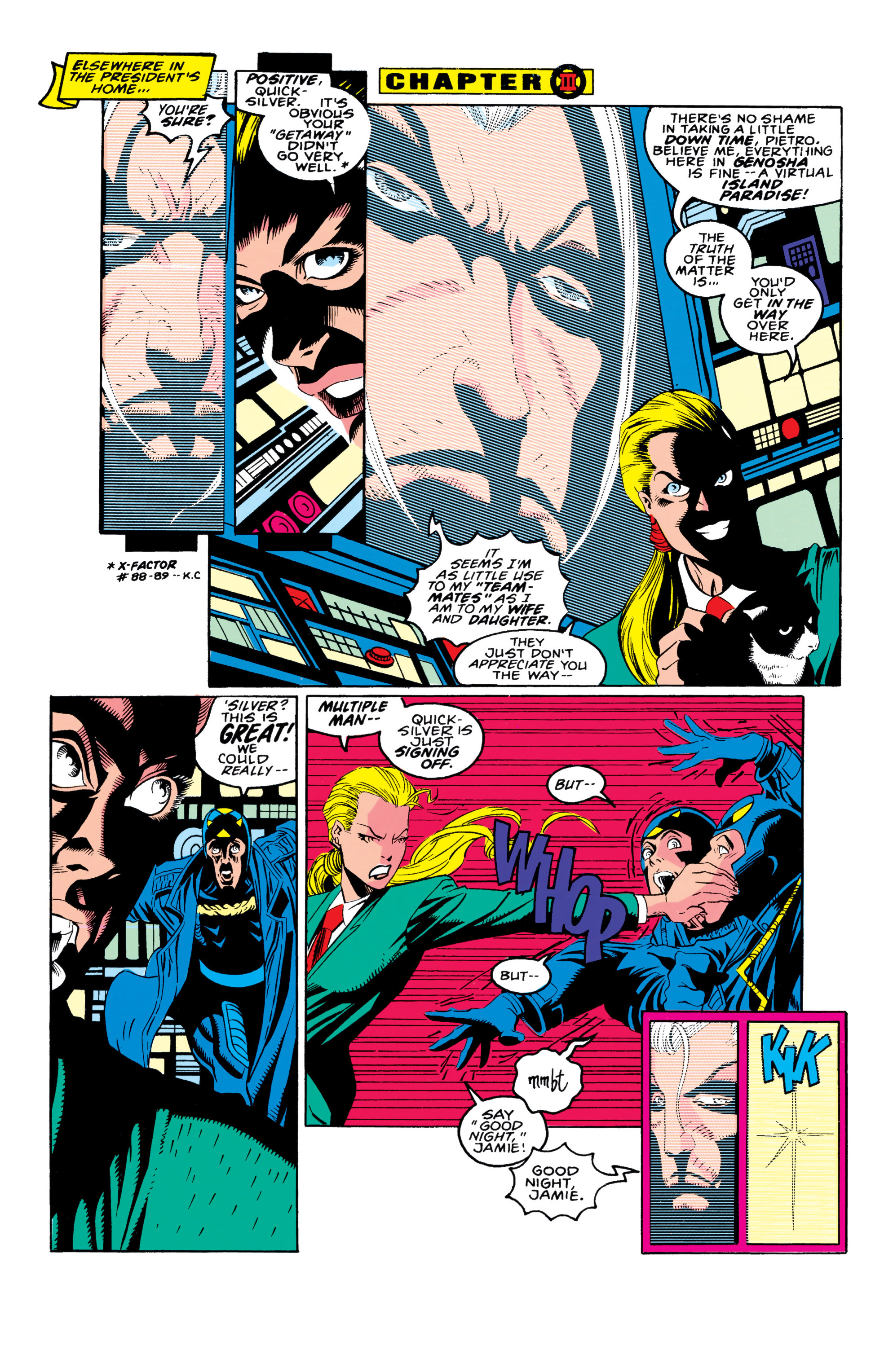 Read online X-Factor (1986) comic -  Issue #90 - 12