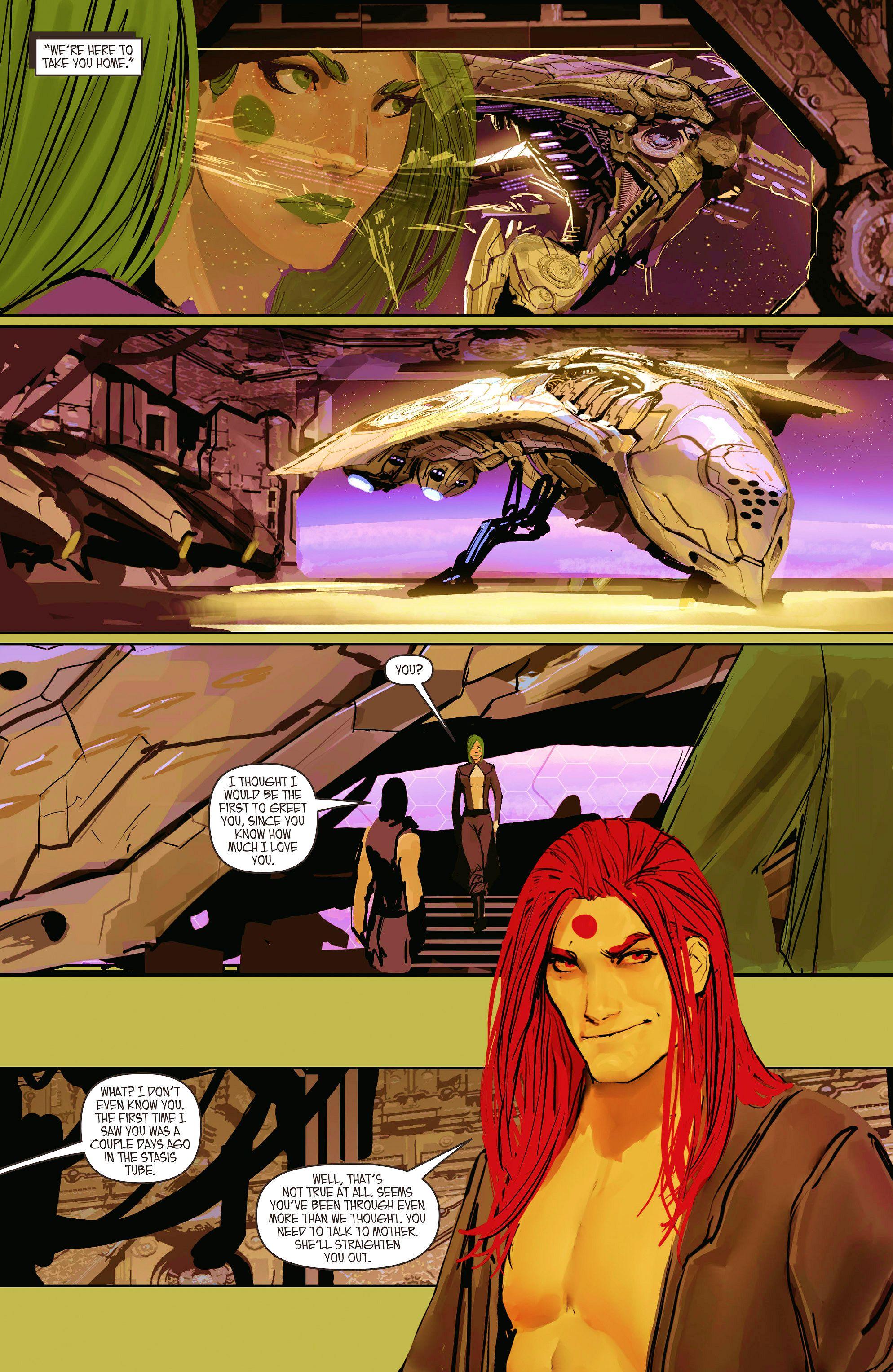 Read online Aphrodite IX (2013) comic -  Issue #10 - 18