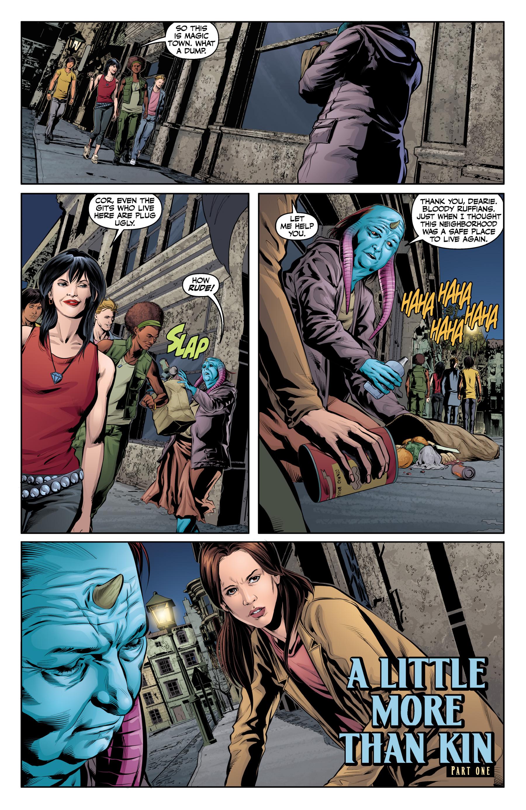 Read online Angel & Faith Season 10 comic -  Issue #19 - 3