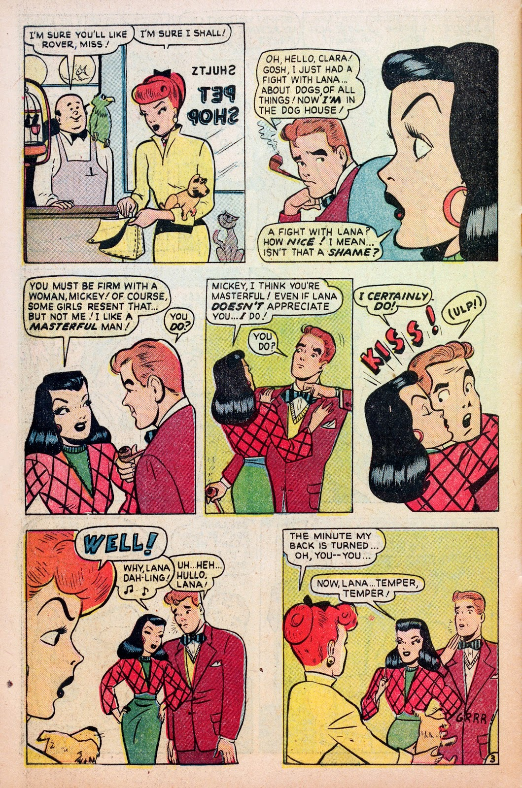 Read online Comedy Comics (1948) comic -  Issue #6 - 30