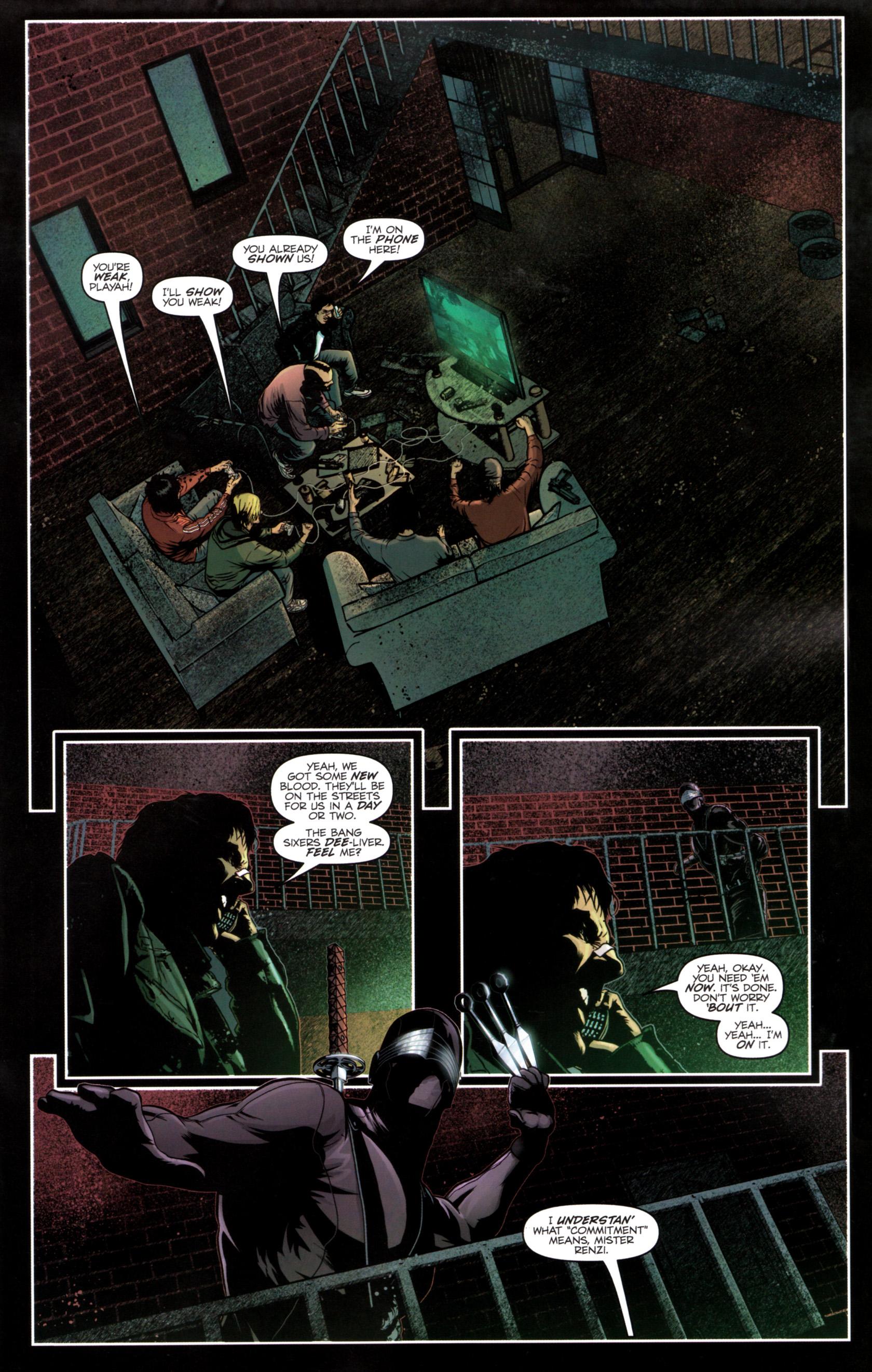 Read online G.I. Joe: Snake Eyes comic -  Issue #12 - 16